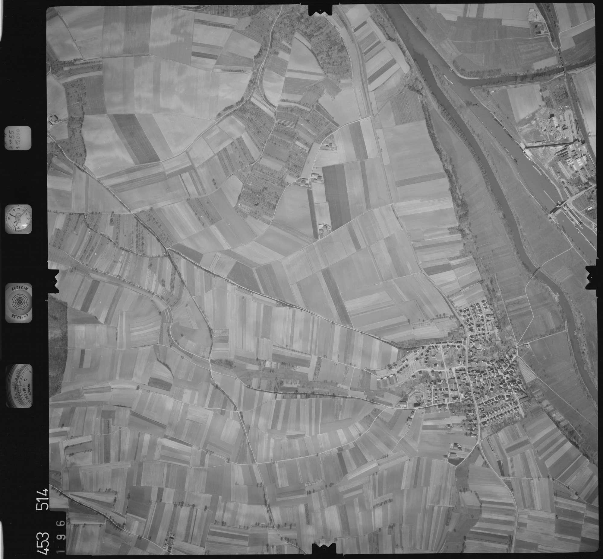 Luftbild: Film 16 Bildnr. 196, Bild 1