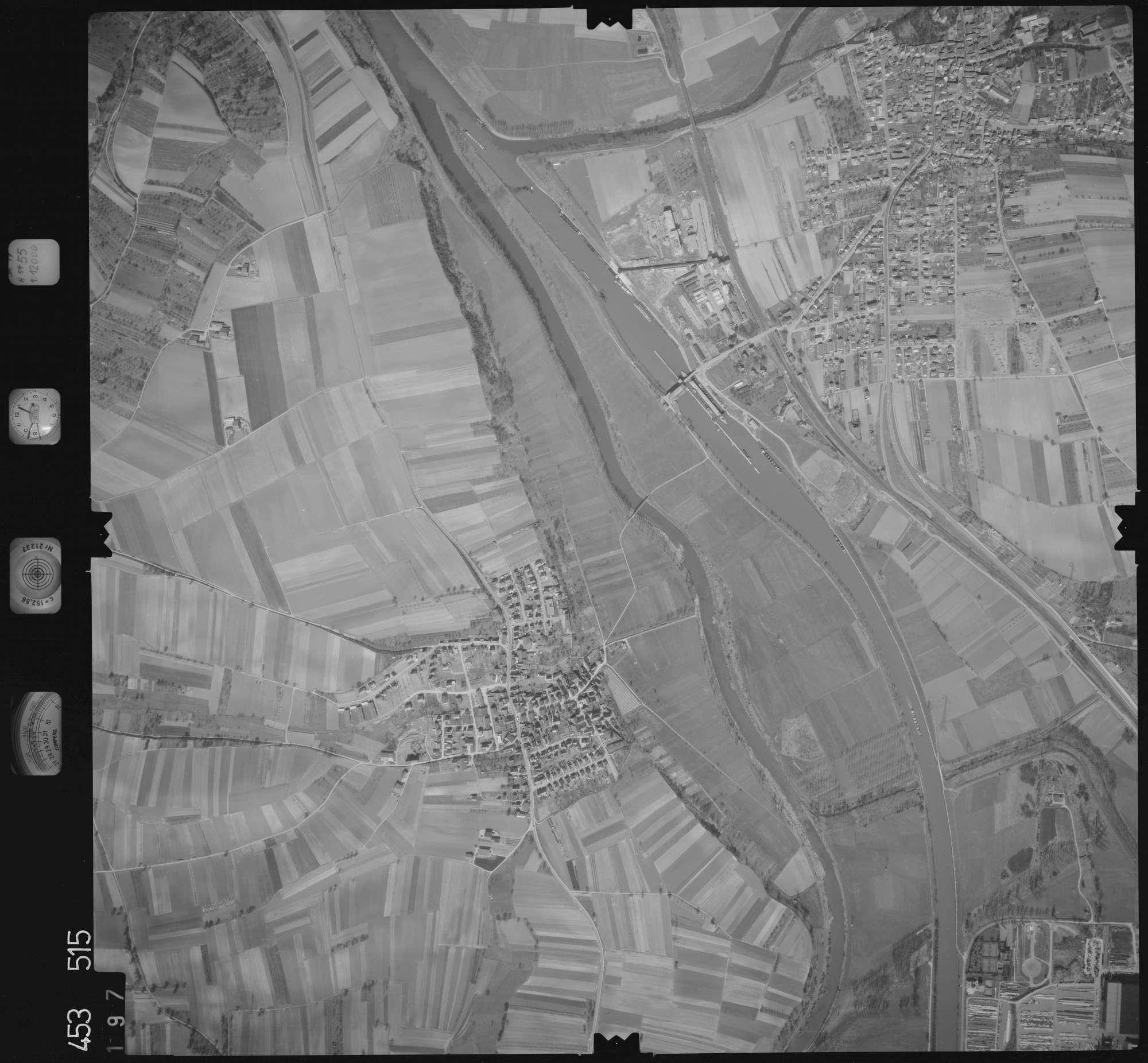 Luftbild: Film 16 Bildnr. 197, Bild 1