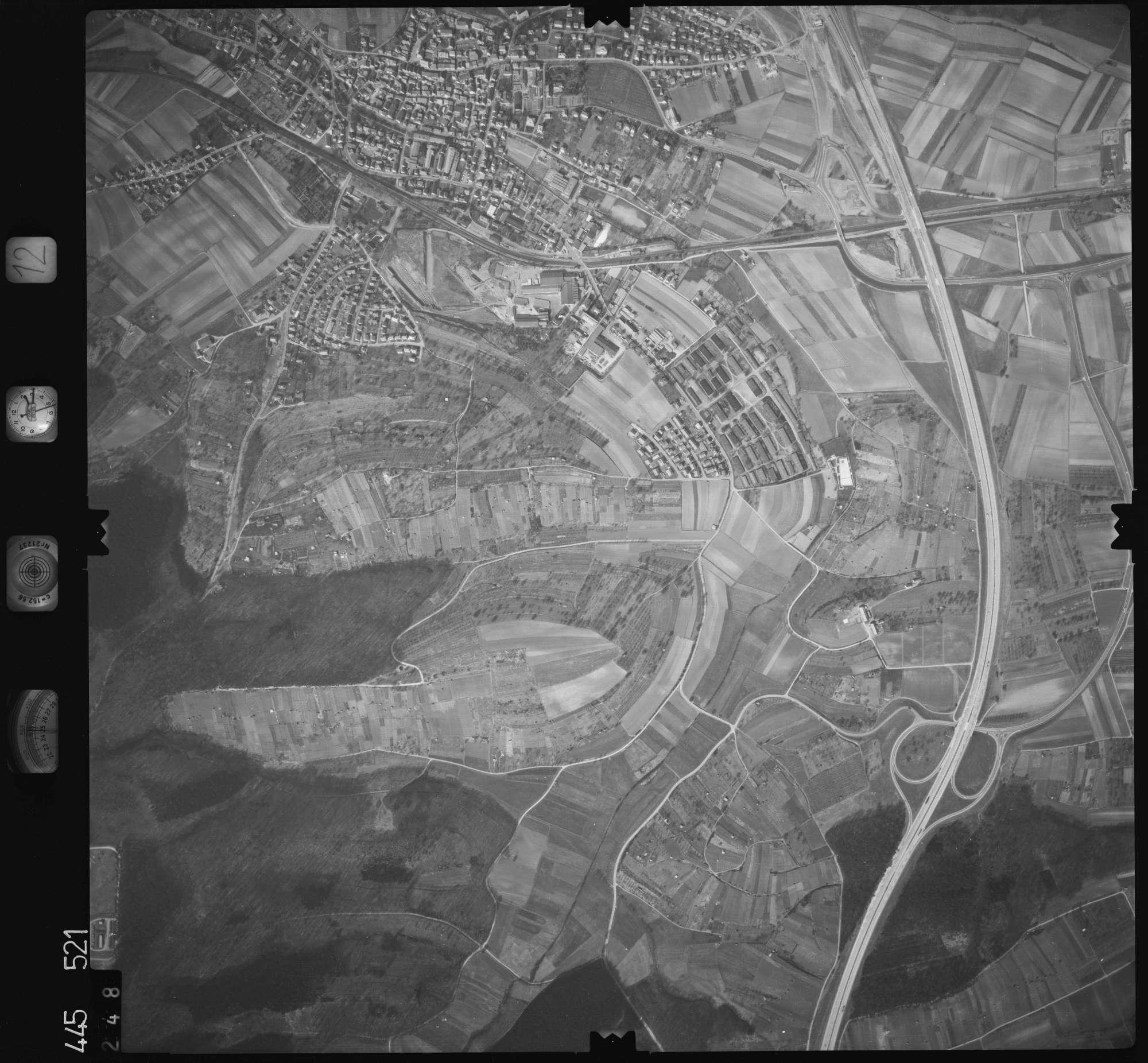 Luftbild: Film 12 Bildnr. 248, Bild 1