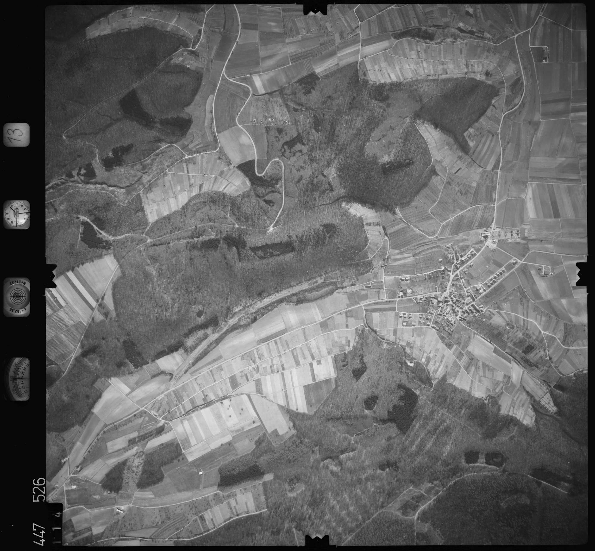 Luftbild: Film 13 Bildnr. 114, Bild 1