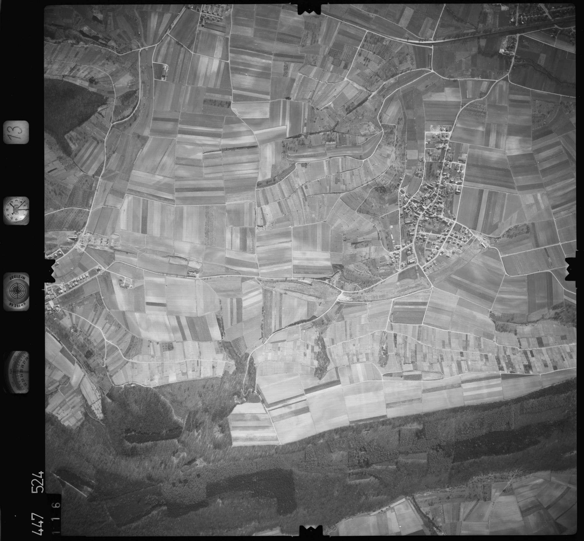 Luftbild: Film 13 Bildnr. 116, Bild 1