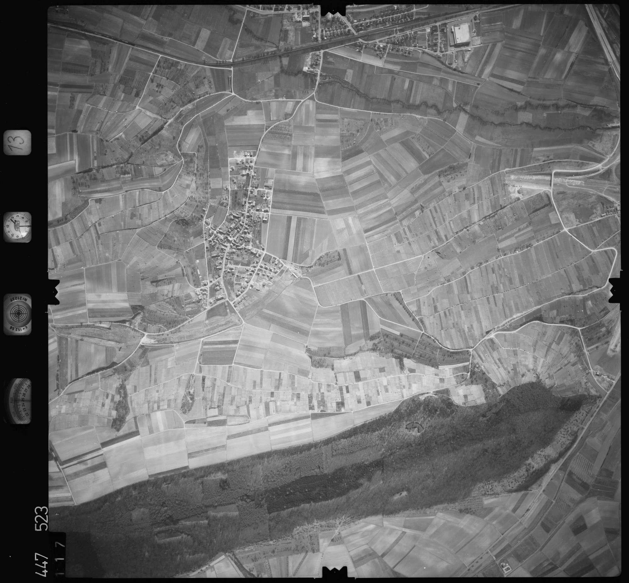 Luftbild: Film 13 Bildnr. 117, Bild 1