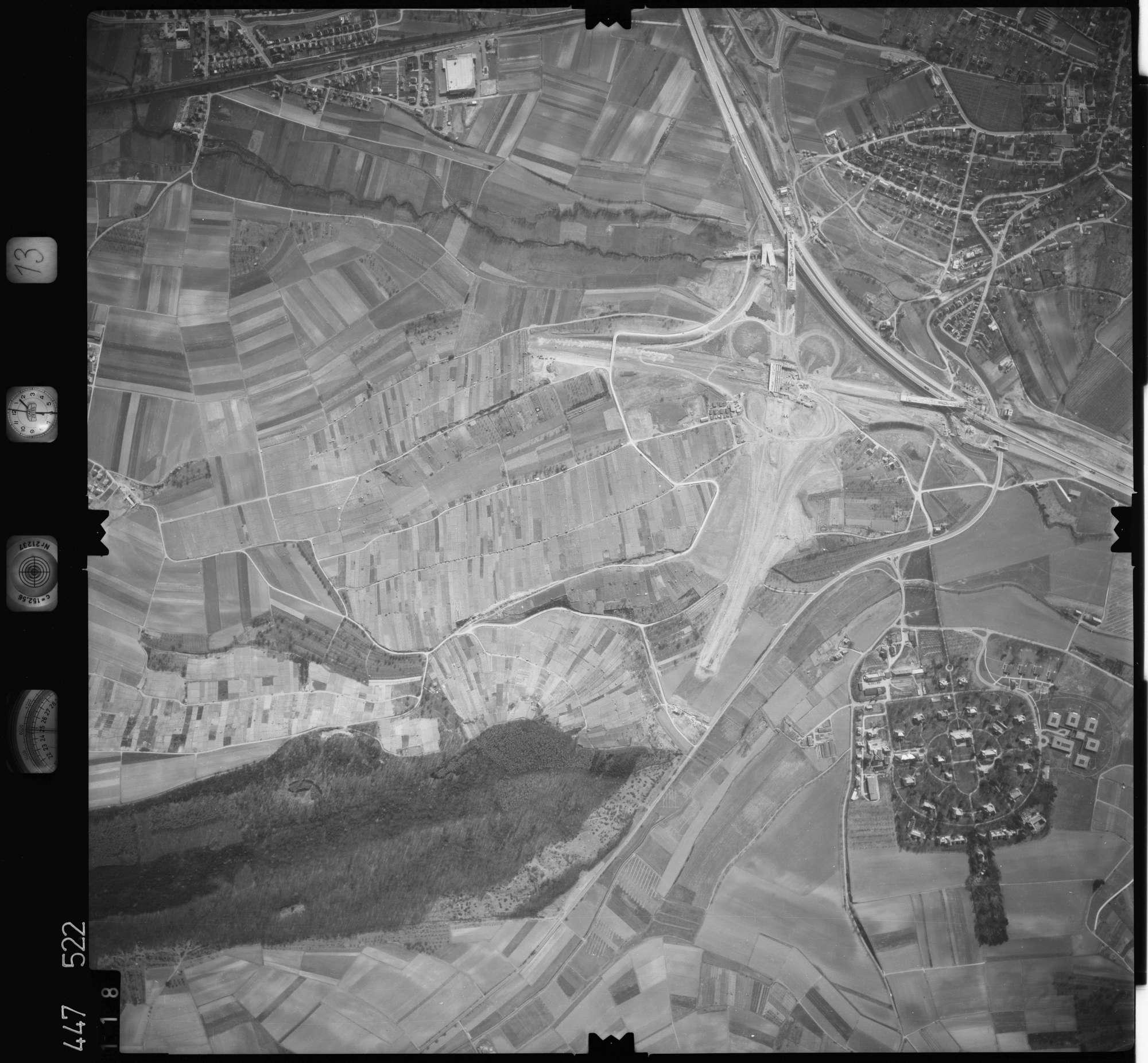 Luftbild: Film 13 Bildnr. 118, Bild 1