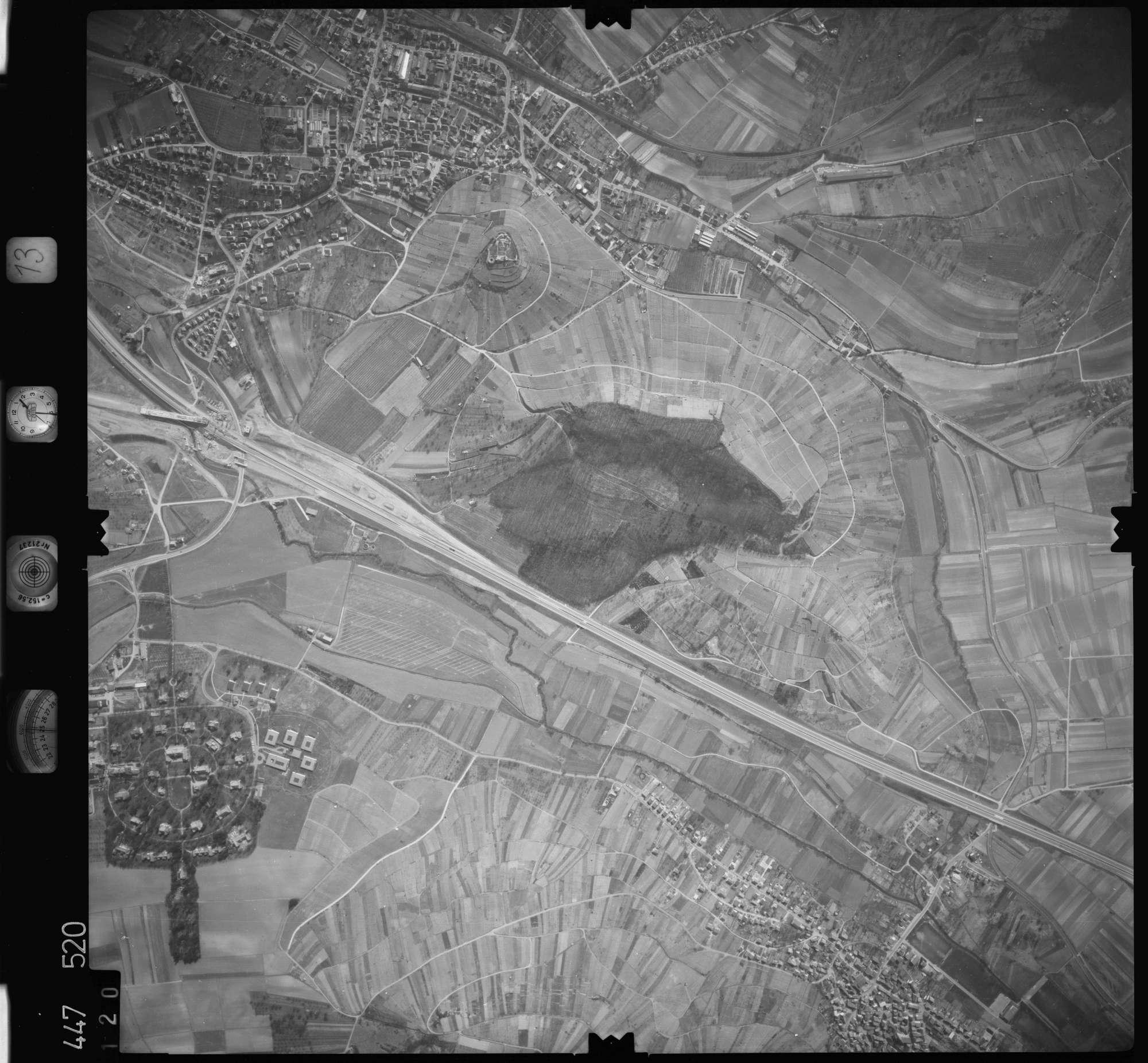 Luftbild: Film 13 Bildnr. 120, Bild 1