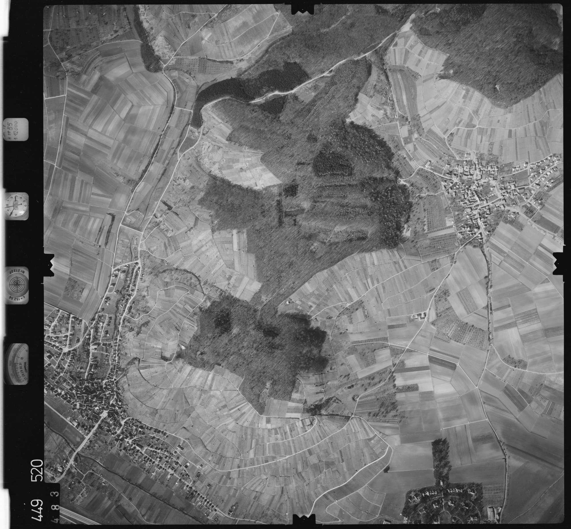 Luftbild: Film 14 Bildnr. 483, Bild 1