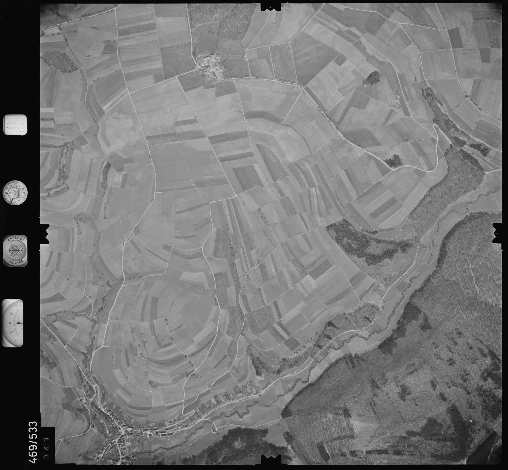 Luftbild: Film 101 Bildnr. 341, Bild 1