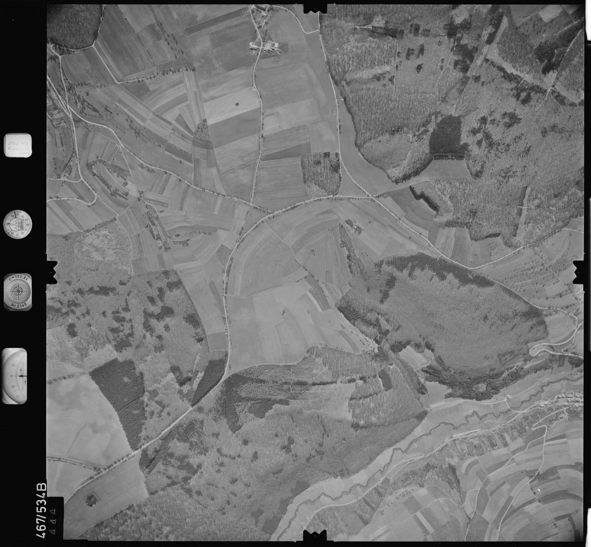 Luftbild: Film 101 Bildnr. 444, Bild 1