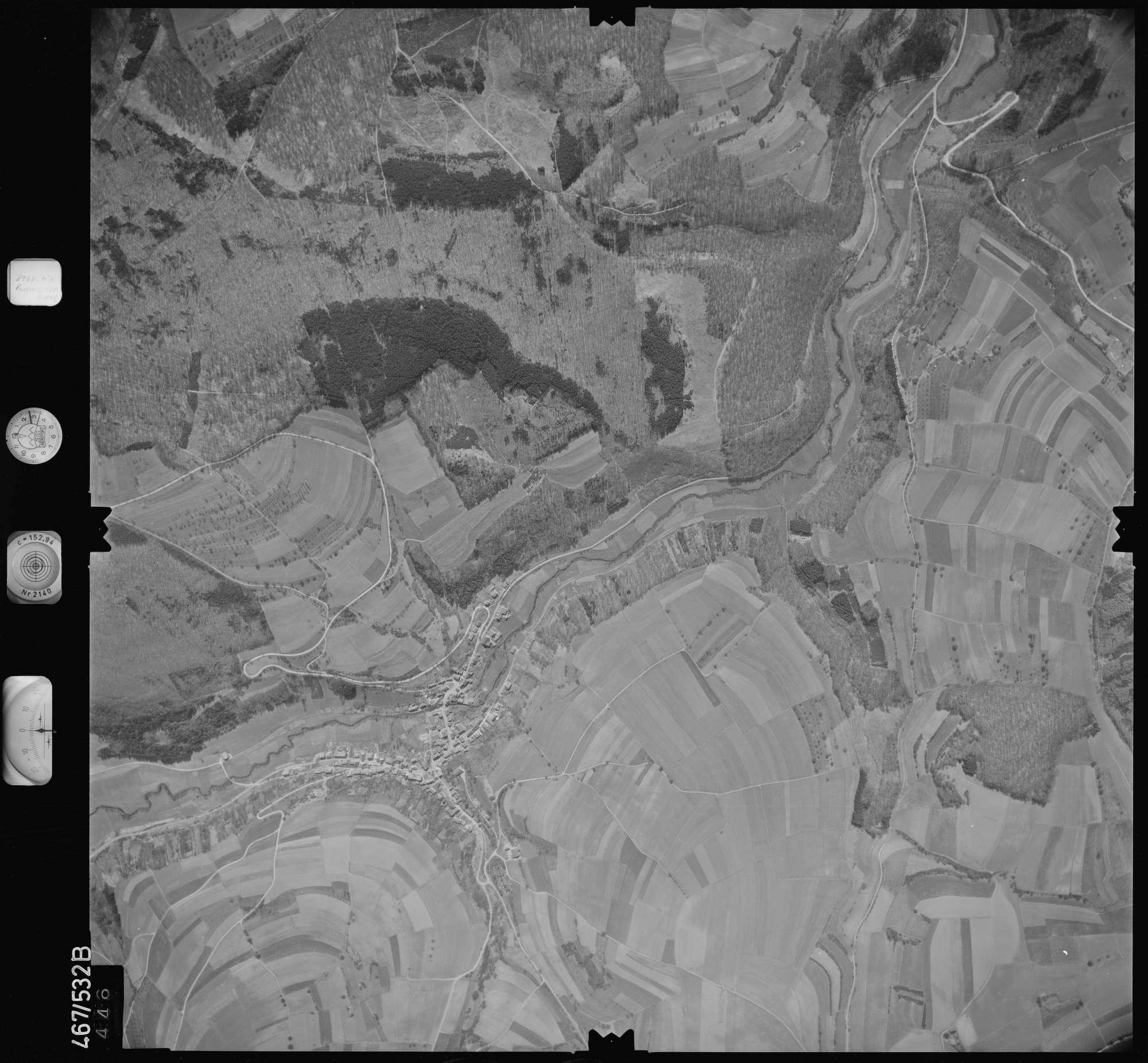 Luftbild: Film 101 Bildnr. 446, Bild 1