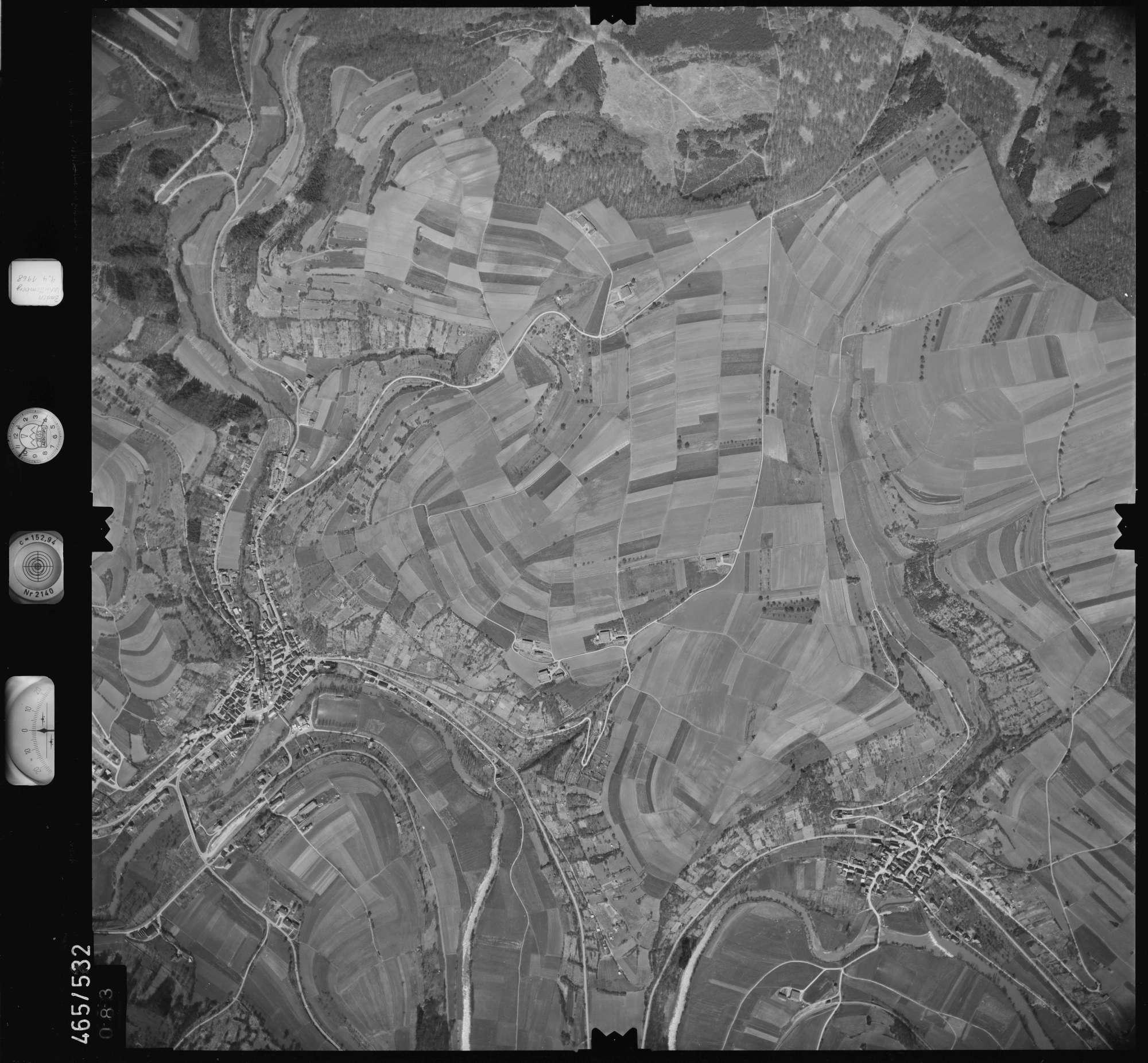 Luftbild: Film 102 Bildnr. 83, Bild 1