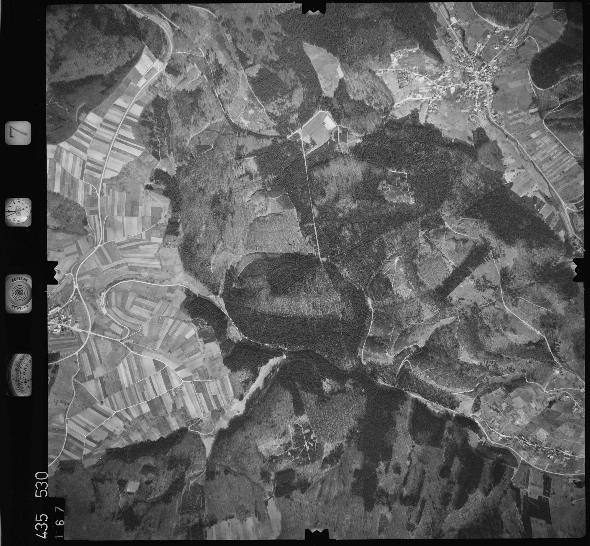 Luftbild: Film 7 Bildnr. 167, Bild 1