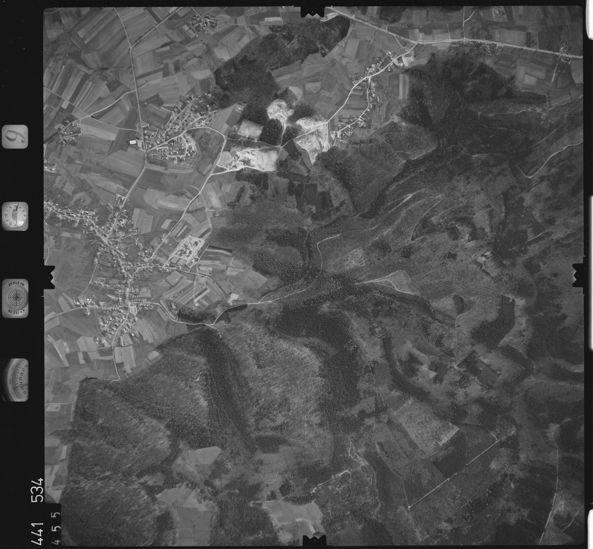 Luftbild: Film 10 Bildnr. 455, Bild 1