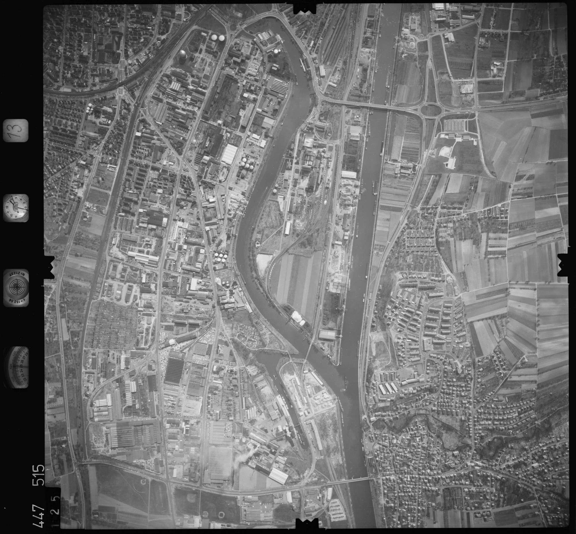 Luftbild: Film 13 Bildnr. 125, Bild 1