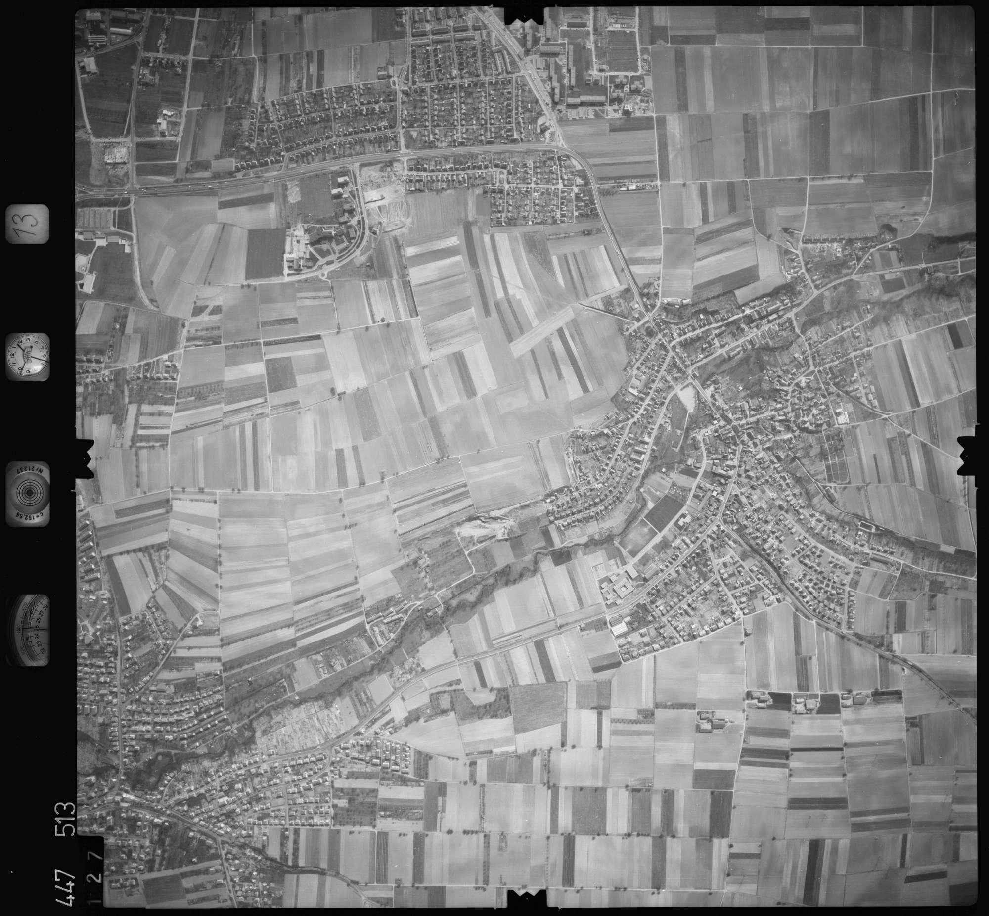 Luftbild: Film 13 Bildnr. 127, Bild 1