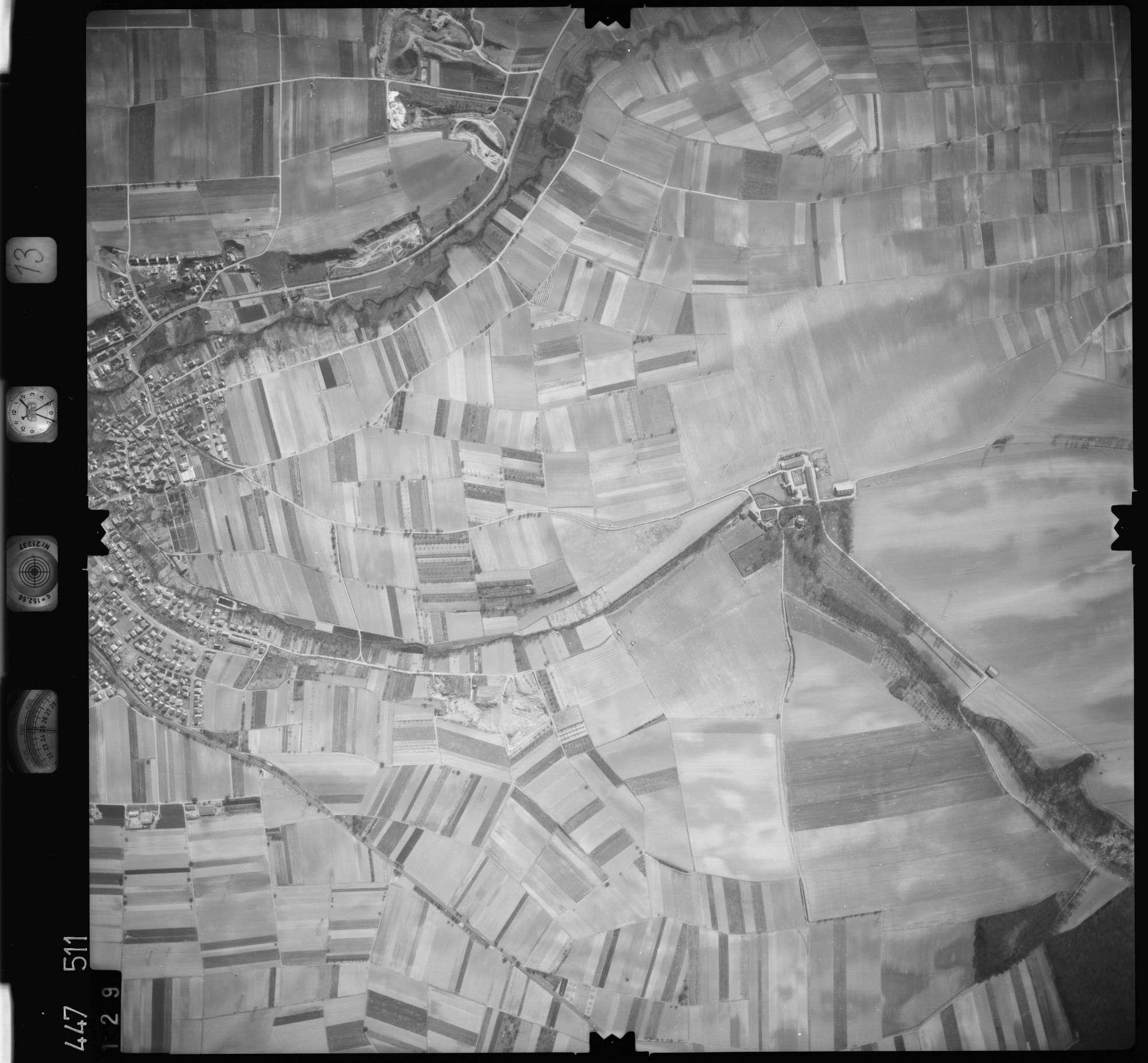Luftbild: Film 13 Bildnr. 129, Bild 1