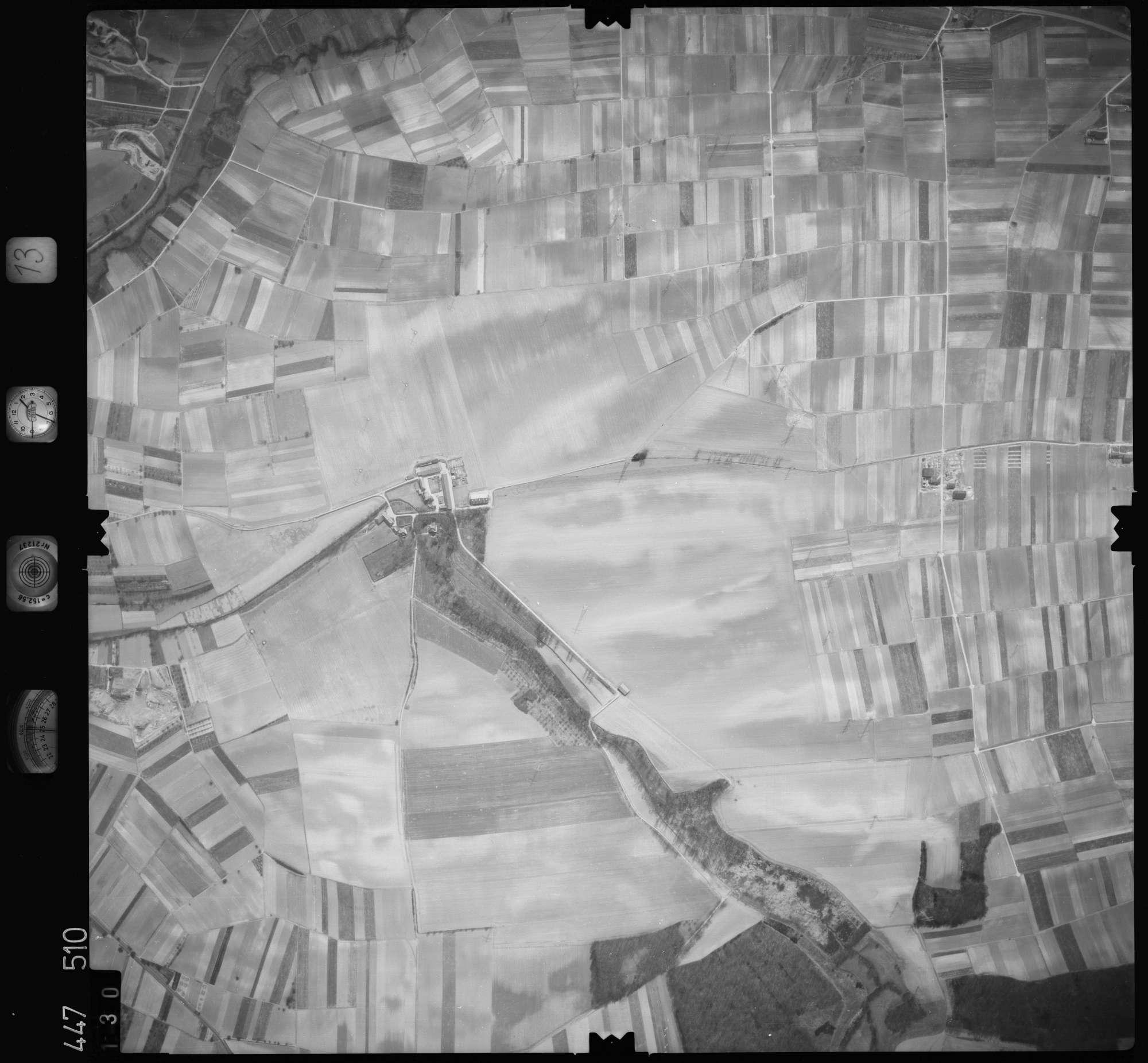 Luftbild: Film 13 Bildnr. 130, Bild 1