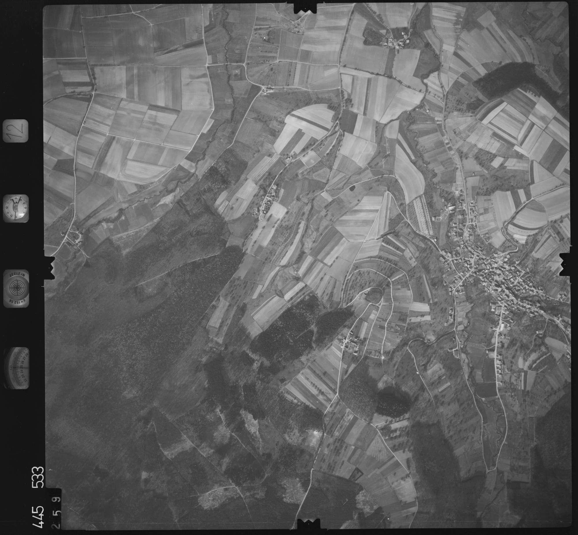 Luftbild: Film 12 Bildnr. 259, Bild 1