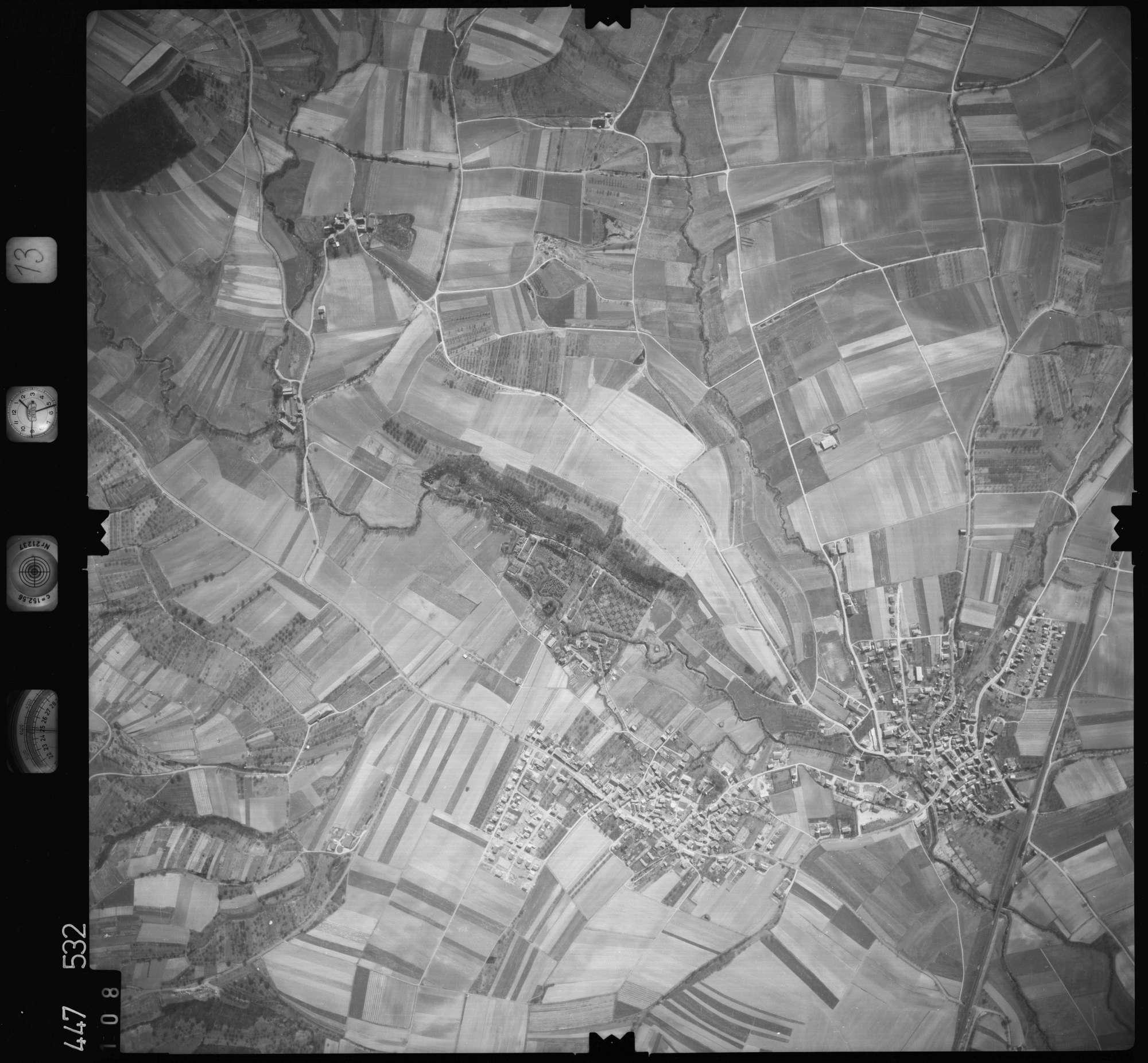 Luftbild: Film 13 Bildnr. 108, Bild 1
