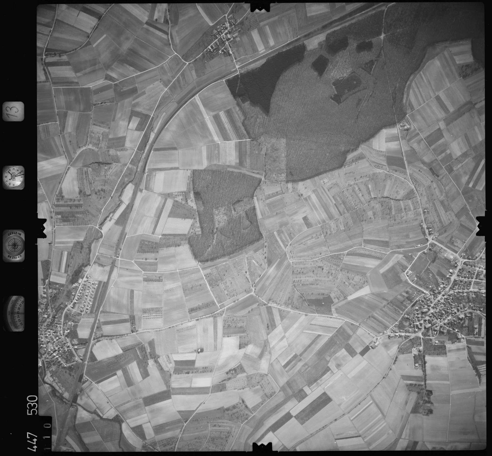Luftbild: Film 13 Bildnr. 110, Bild 1