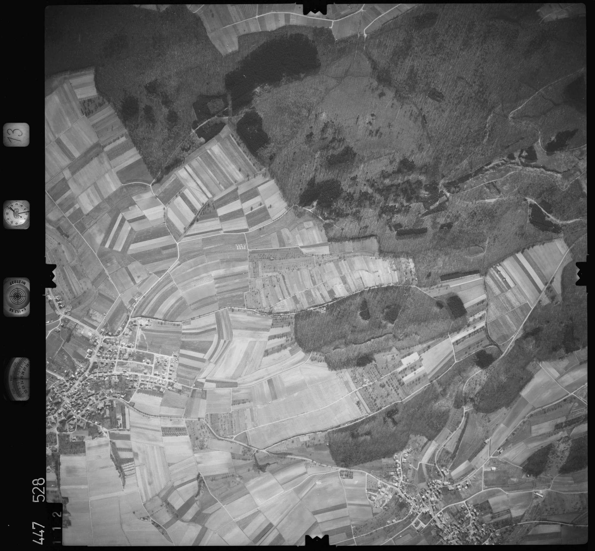 Luftbild: Film 13 Bildnr. 112, Bild 1