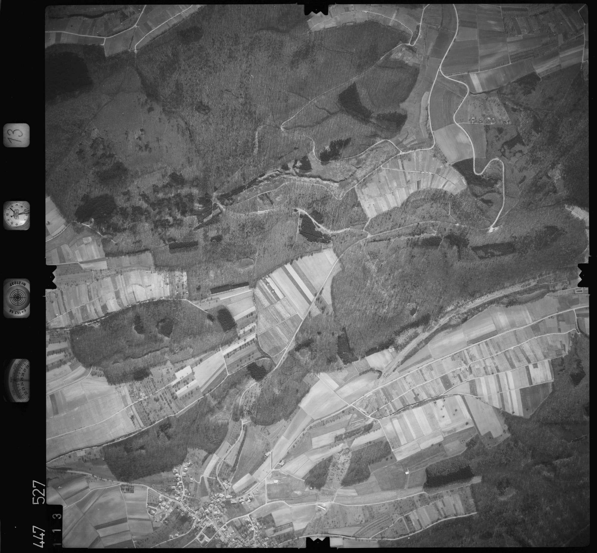 Luftbild: Film 13 Bildnr. 113, Bild 1