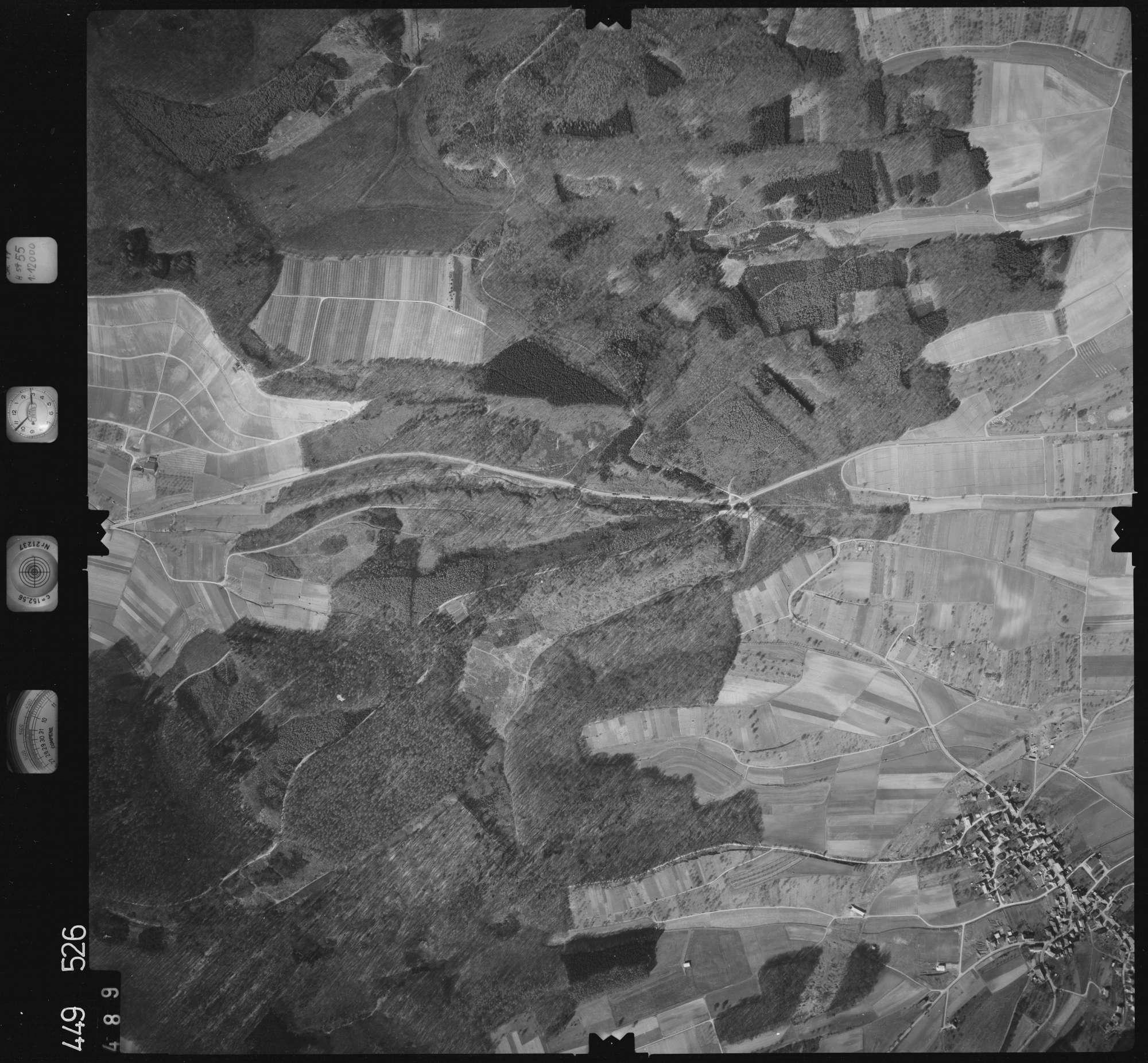 Luftbild: Film 14 Bildnr. 489, Bild 1