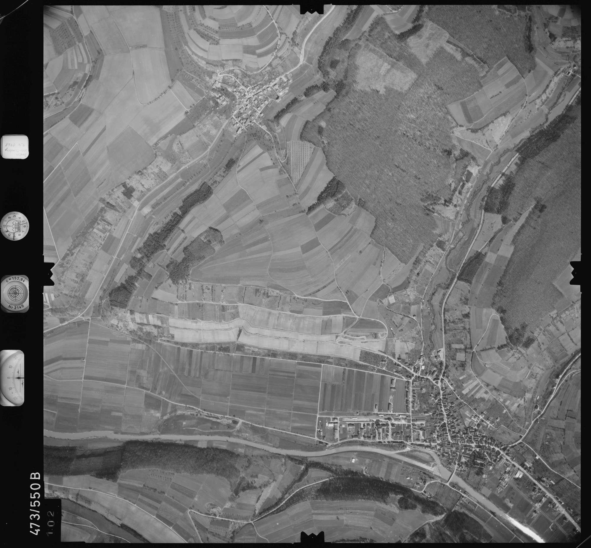 Luftbild: Film 100 Bildnr. 102, Bild 1
