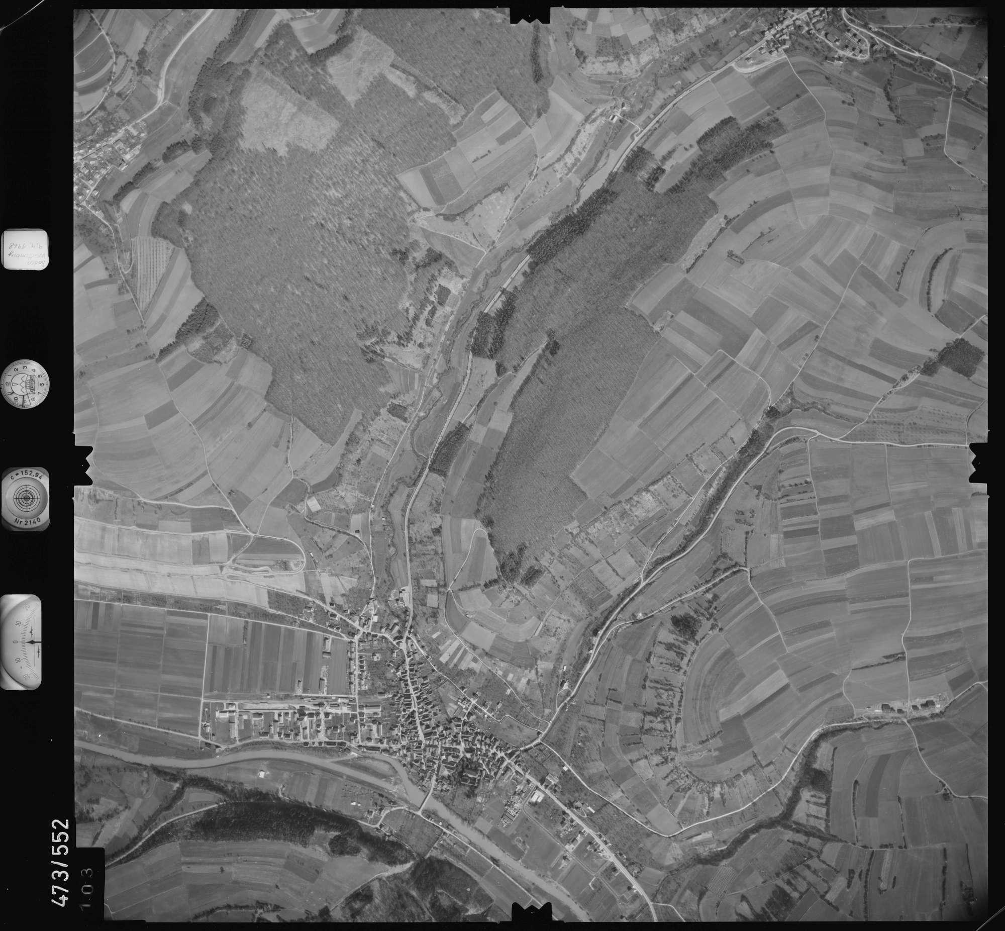 Luftbild: Film 100 Bildnr. 103, Bild 1