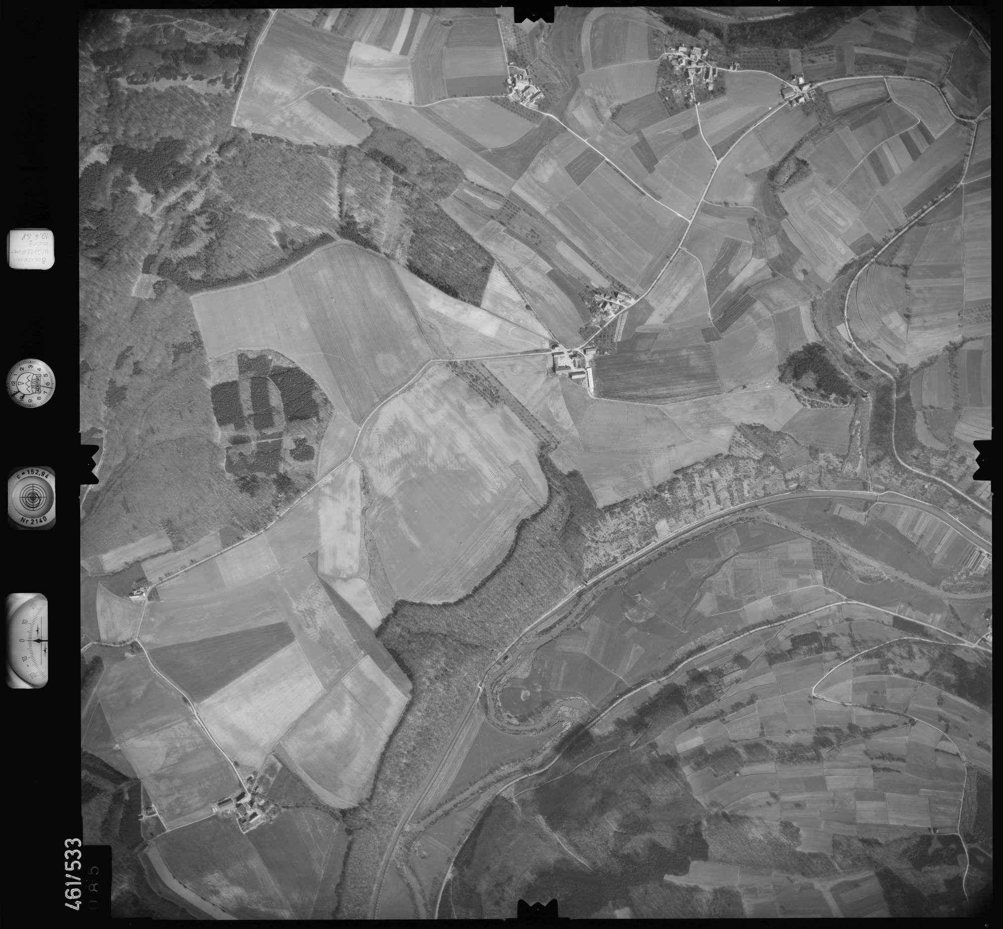 Luftbild: Film 103 Bildnr. 85, Bild 1