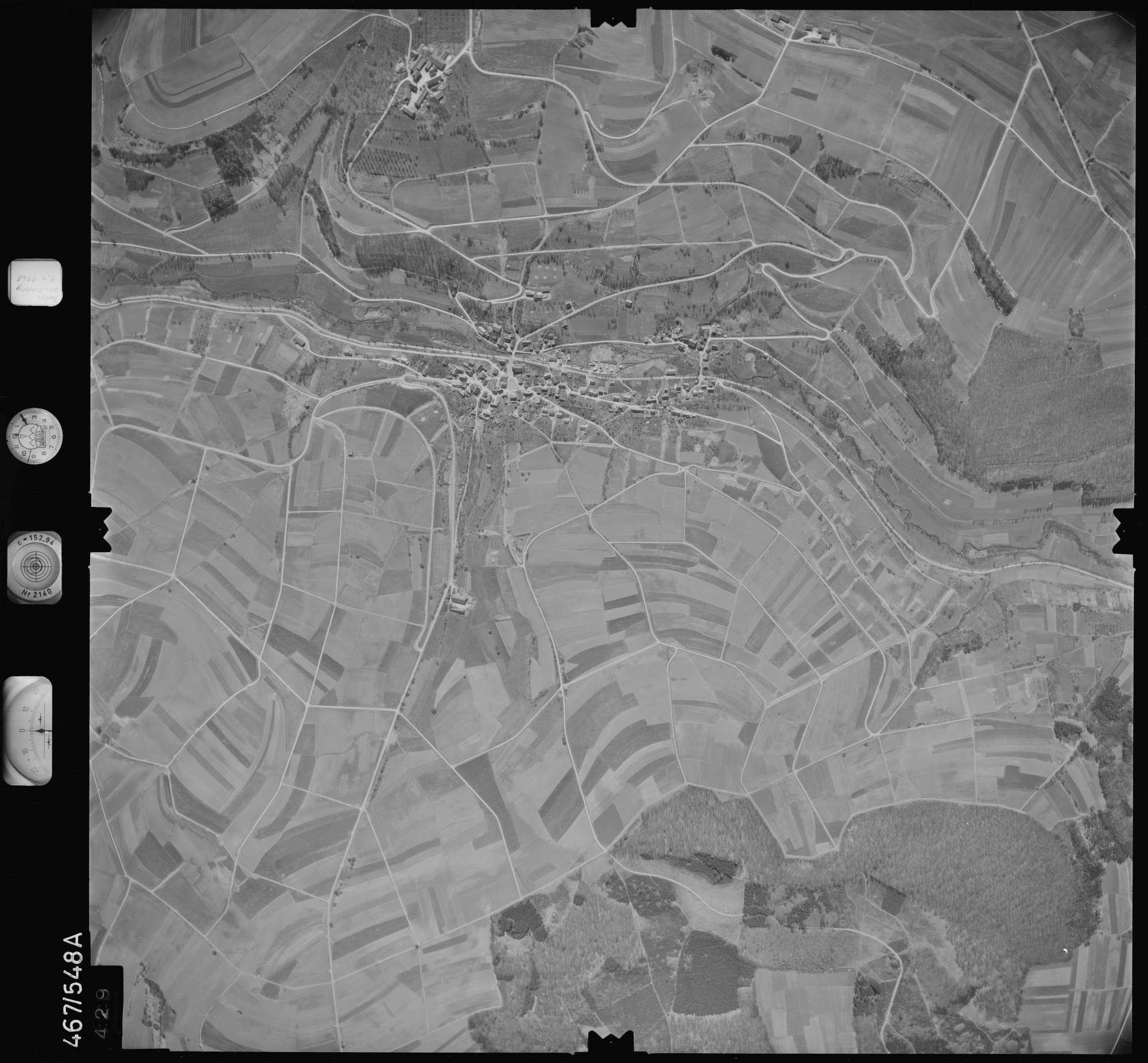 Luftbild: Film 101 Bildnr. 429, Bild 1