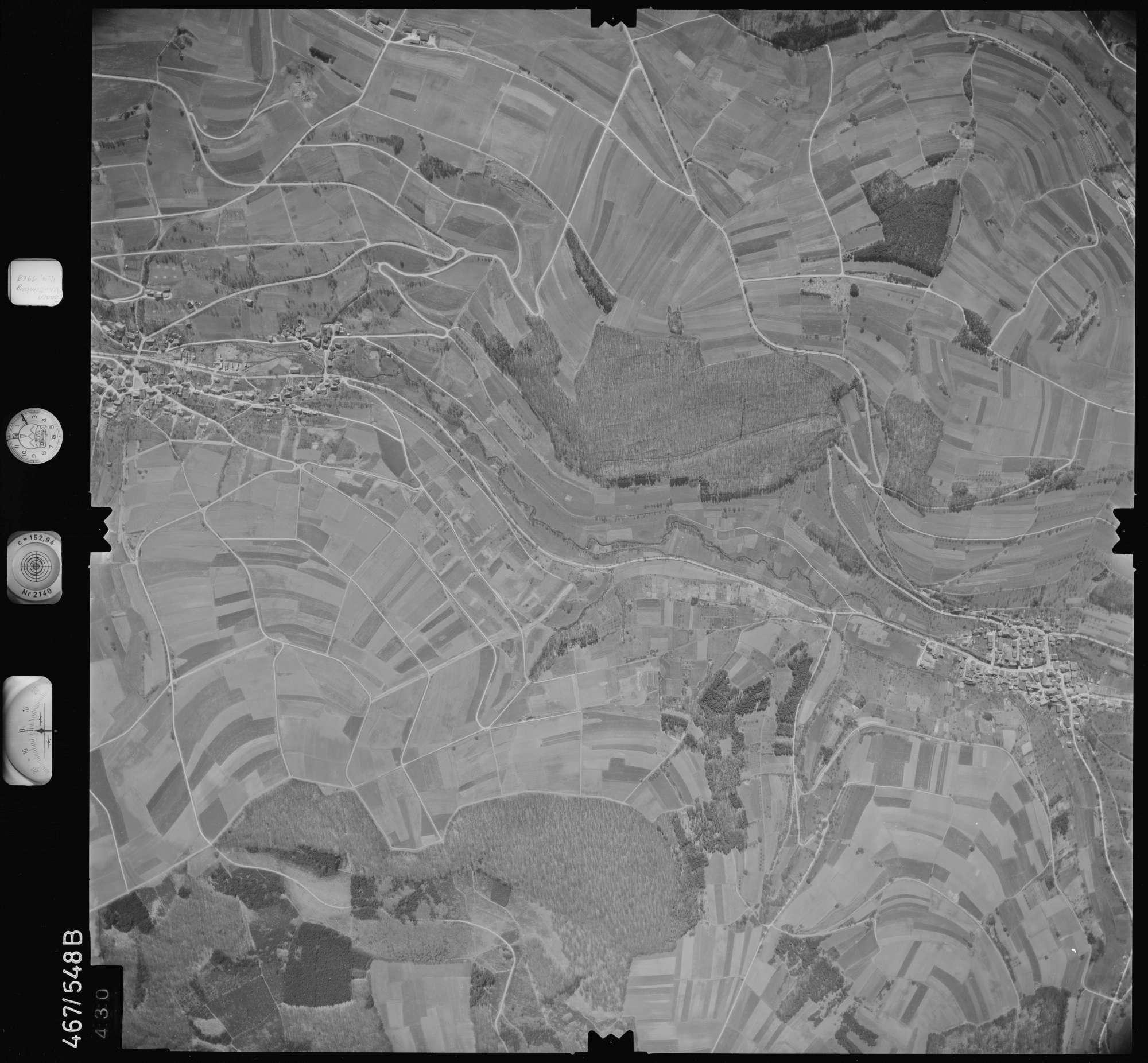 Luftbild: Film 101 Bildnr. 430, Bild 1