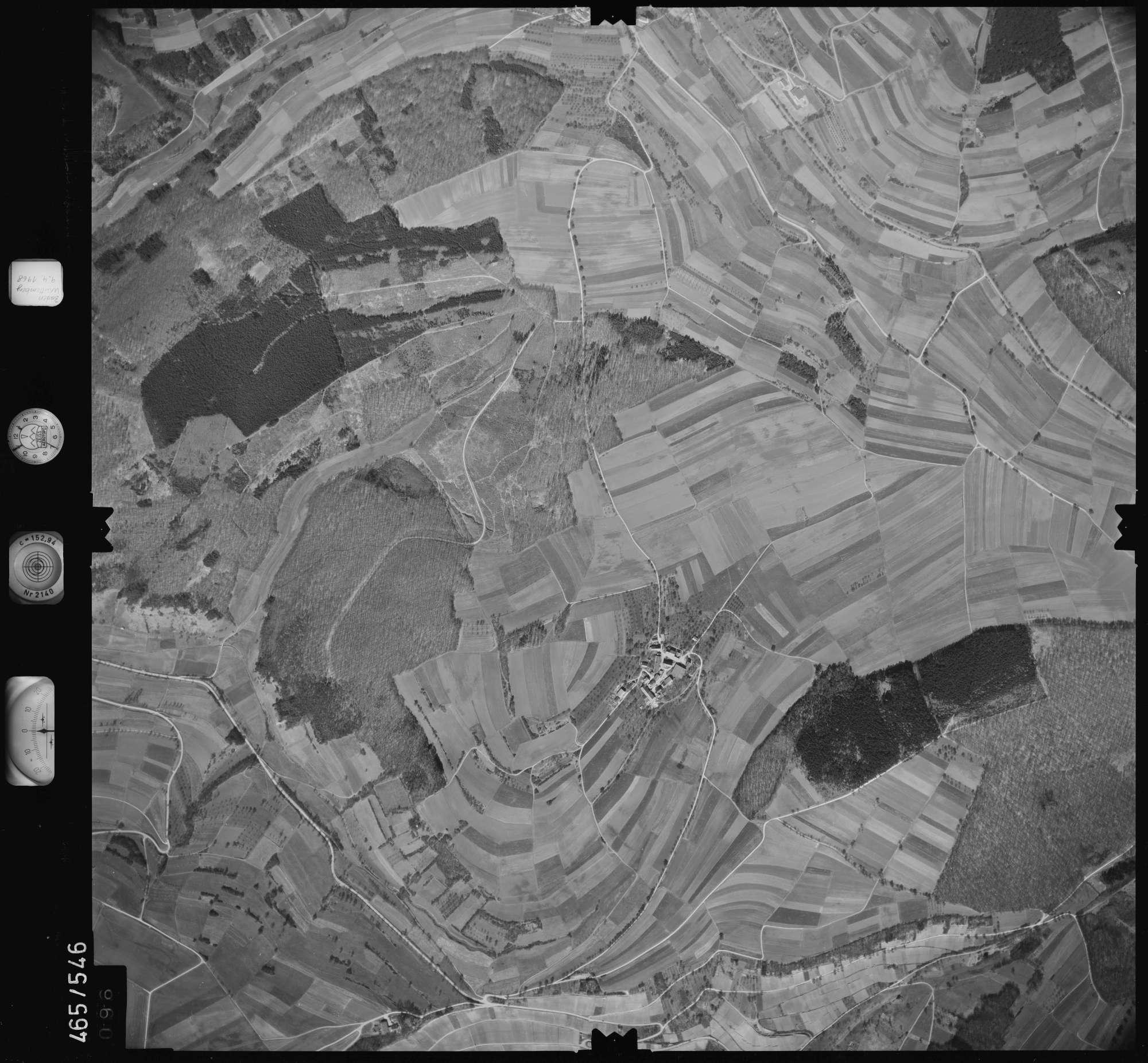 Luftbild: Film 102 Bildnr. 96, Bild 1