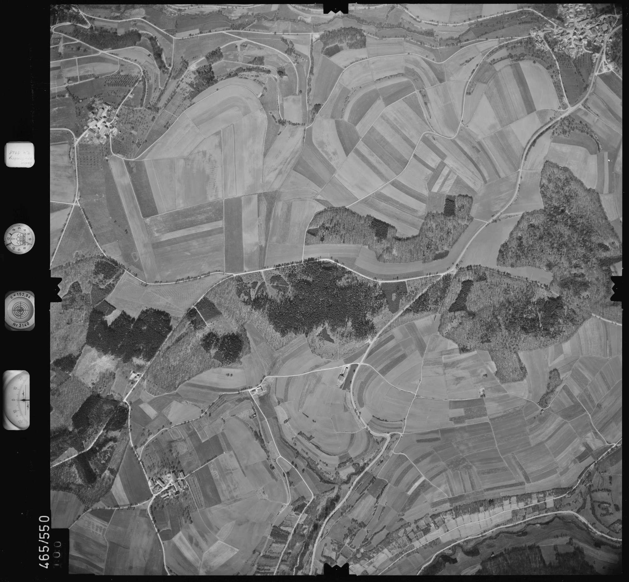 Luftbild: Film 102 Bildnr. 100, Bild 1