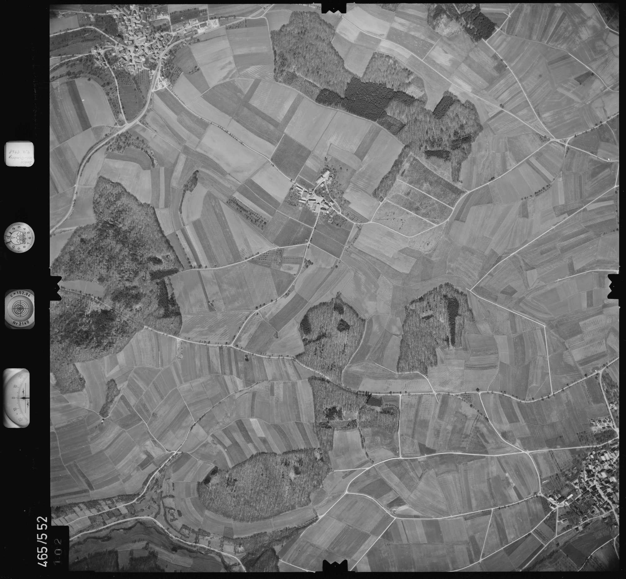 Luftbild: Film 102 Bildnr. 102, Bild 1