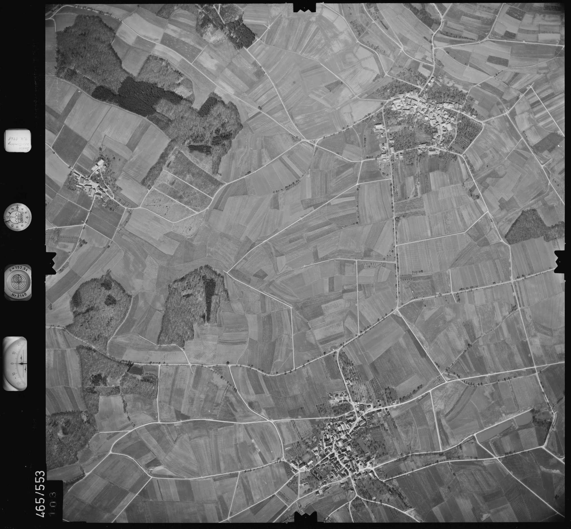 Luftbild: Film 102 Bildnr. 103, Bild 1