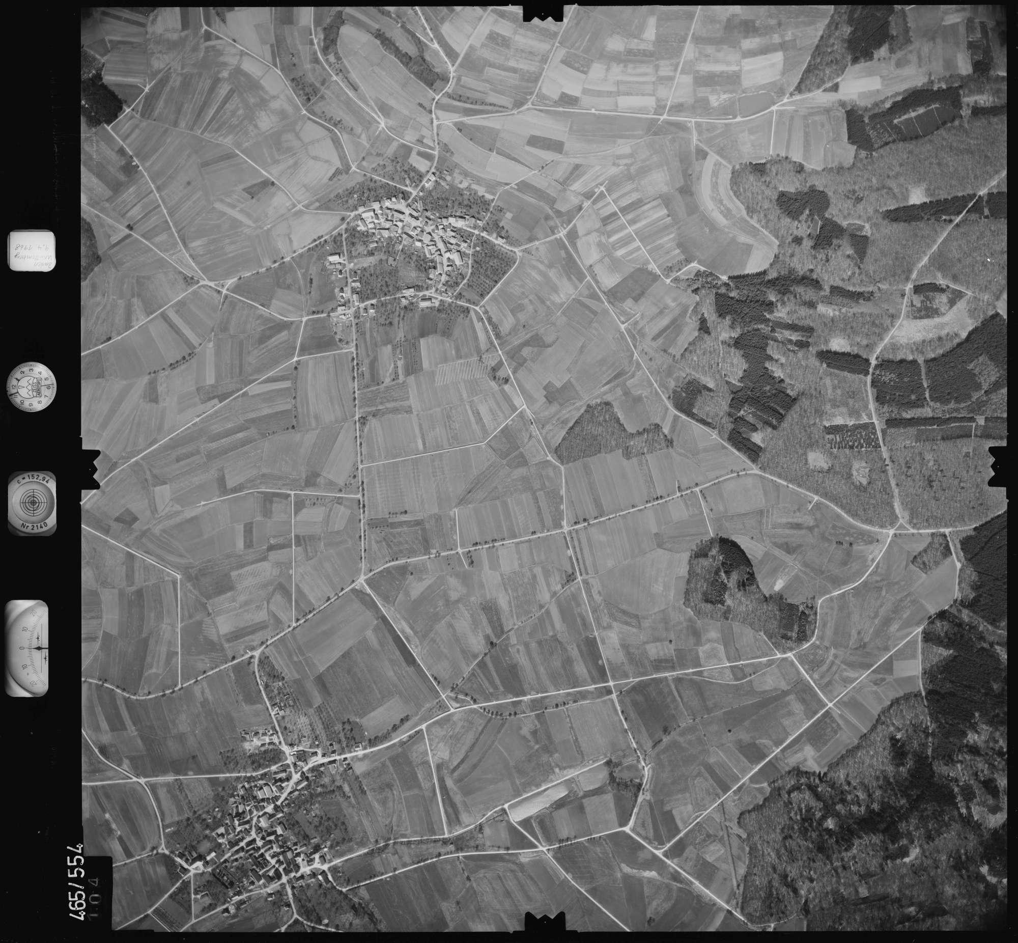 Luftbild: Film 102 Bildnr. 104, Bild 1