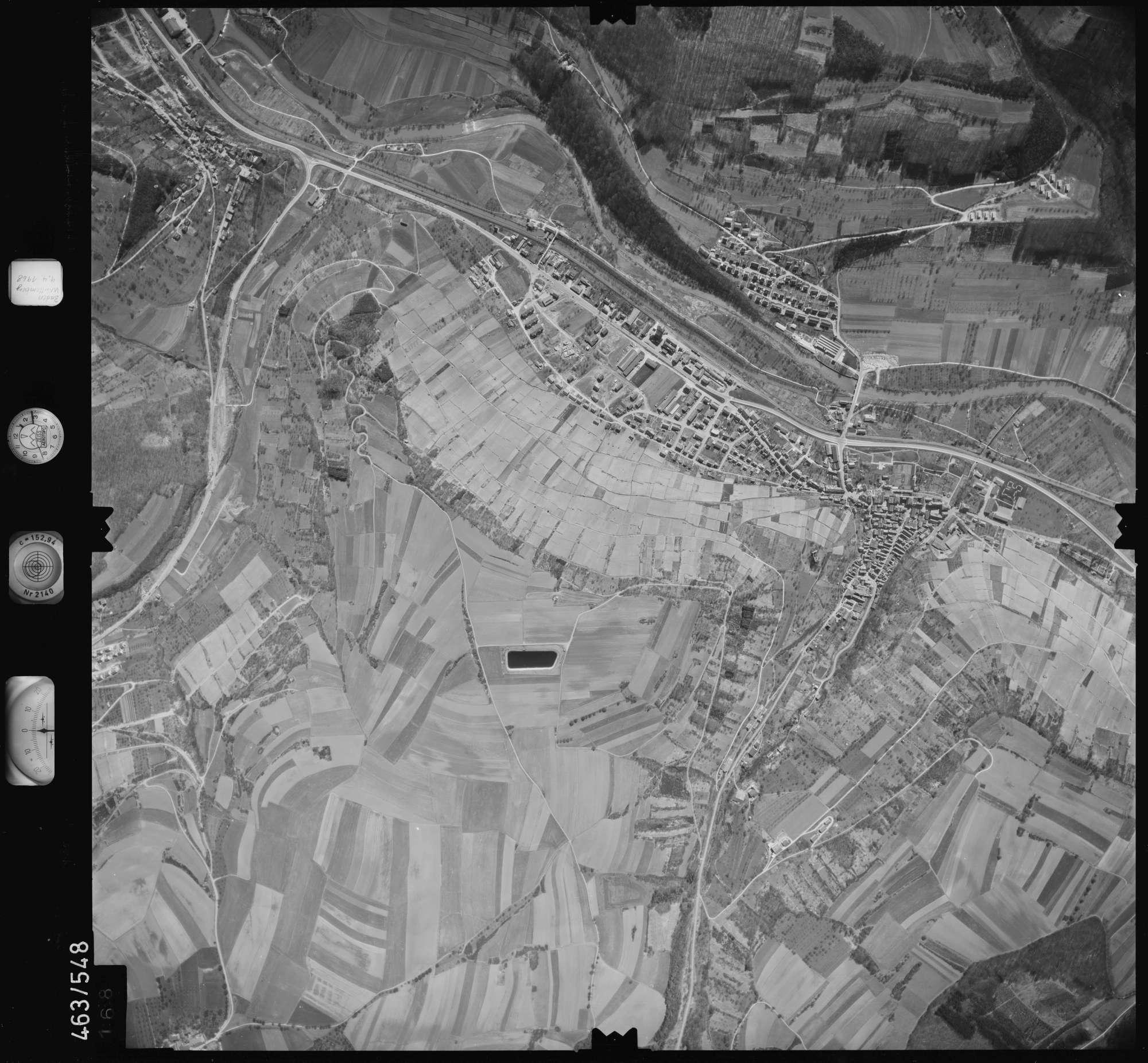Luftbild: Film 102 Bildnr. 168, Bild 1