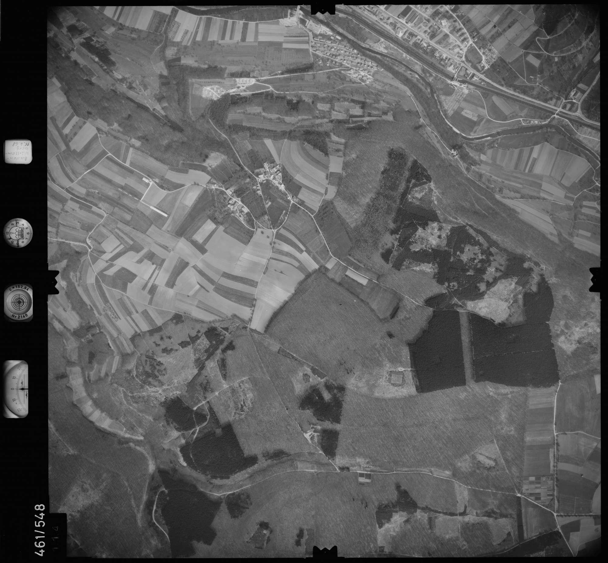Luftbild: Film 105 Bildnr. 114, Bild 1