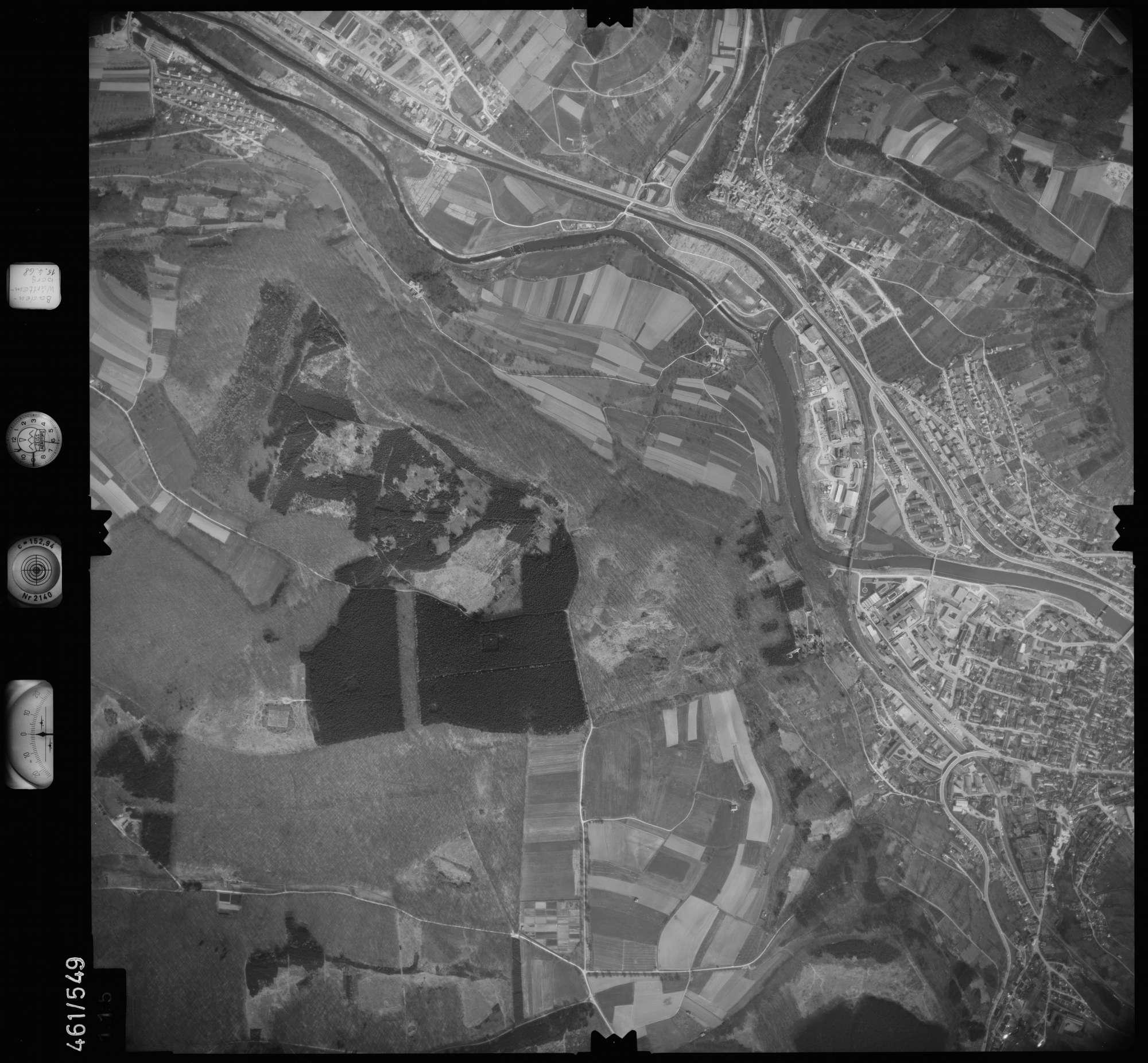 Luftbild: Film 105 Bildnr. 115, Bild 1