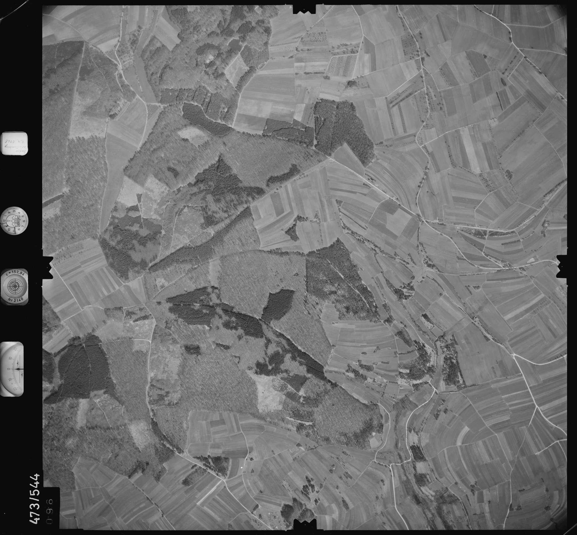 Luftbild: Film 100 Bildnr. 96, Bild 1