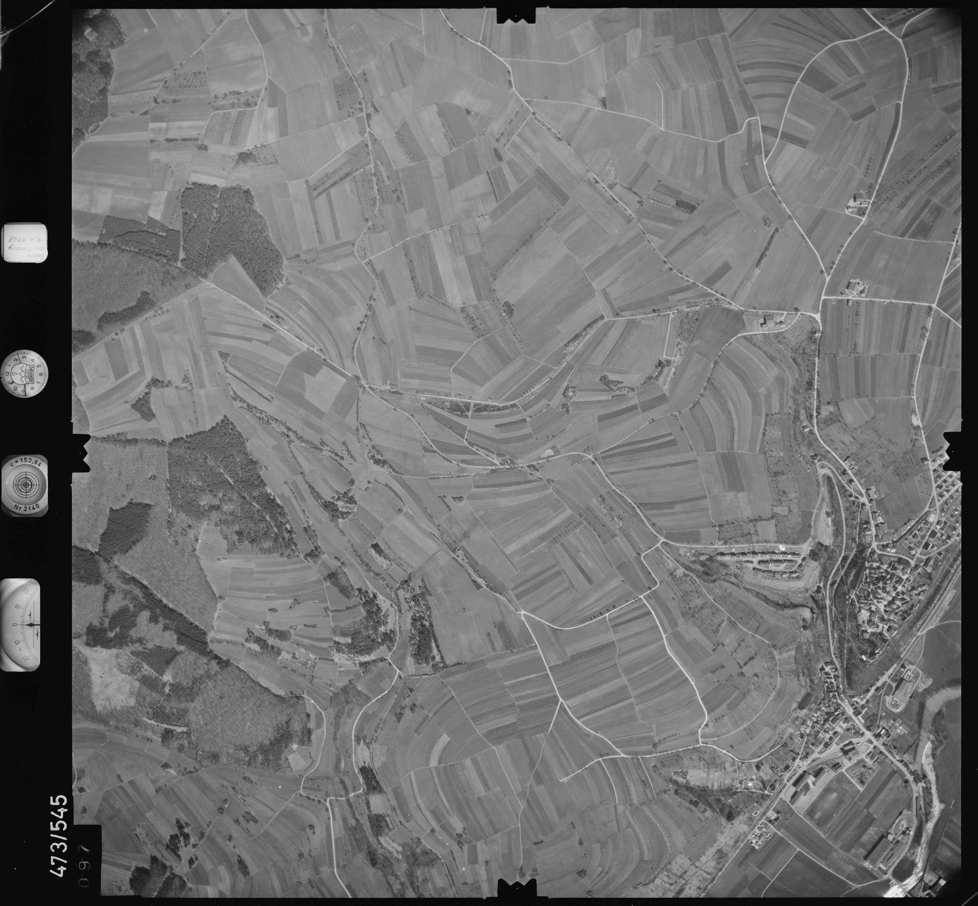 Luftbild: Film 100 Bildnr. 97, Bild 1