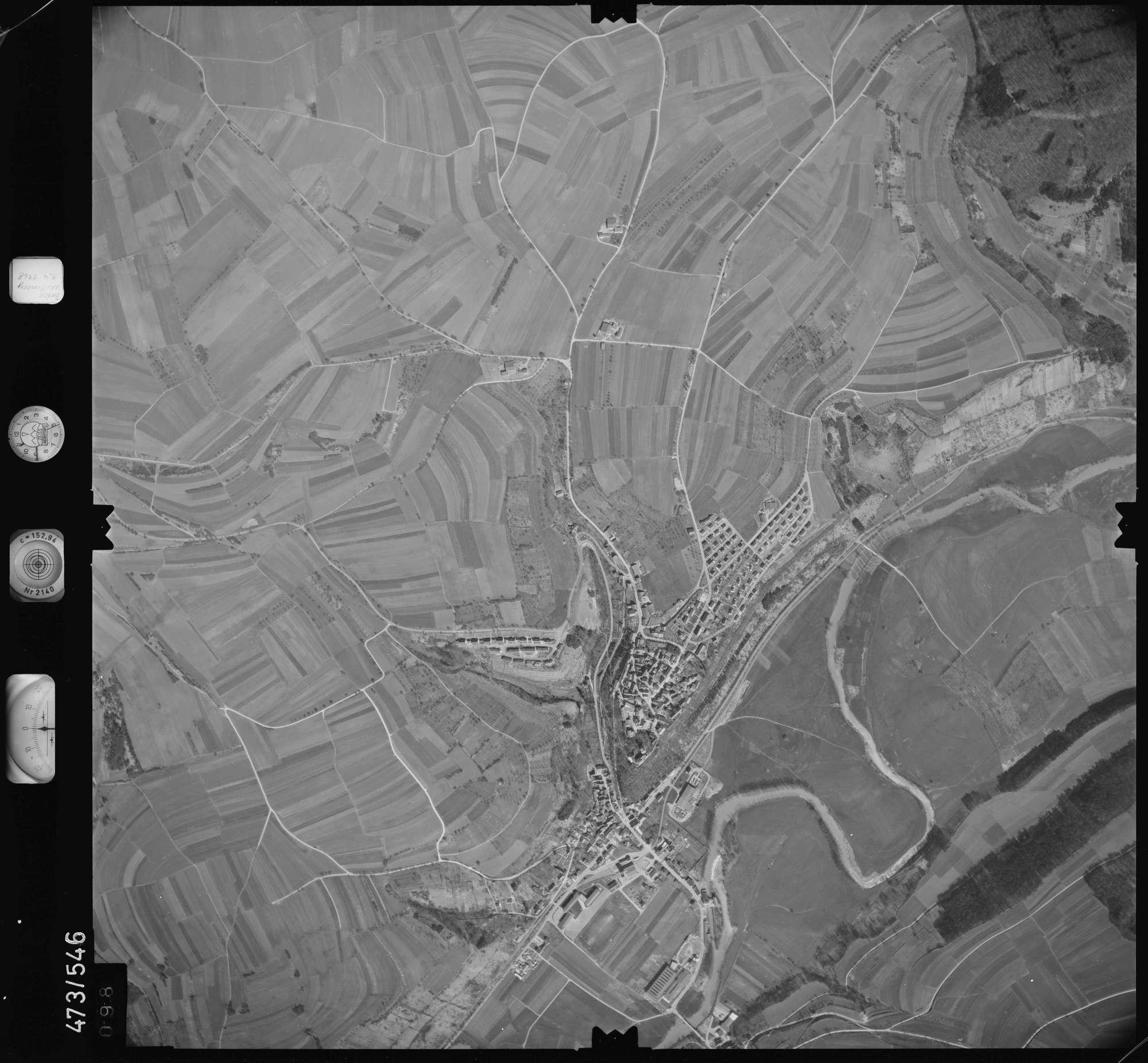 Luftbild: Film 100 Bildnr. 98, Bild 1