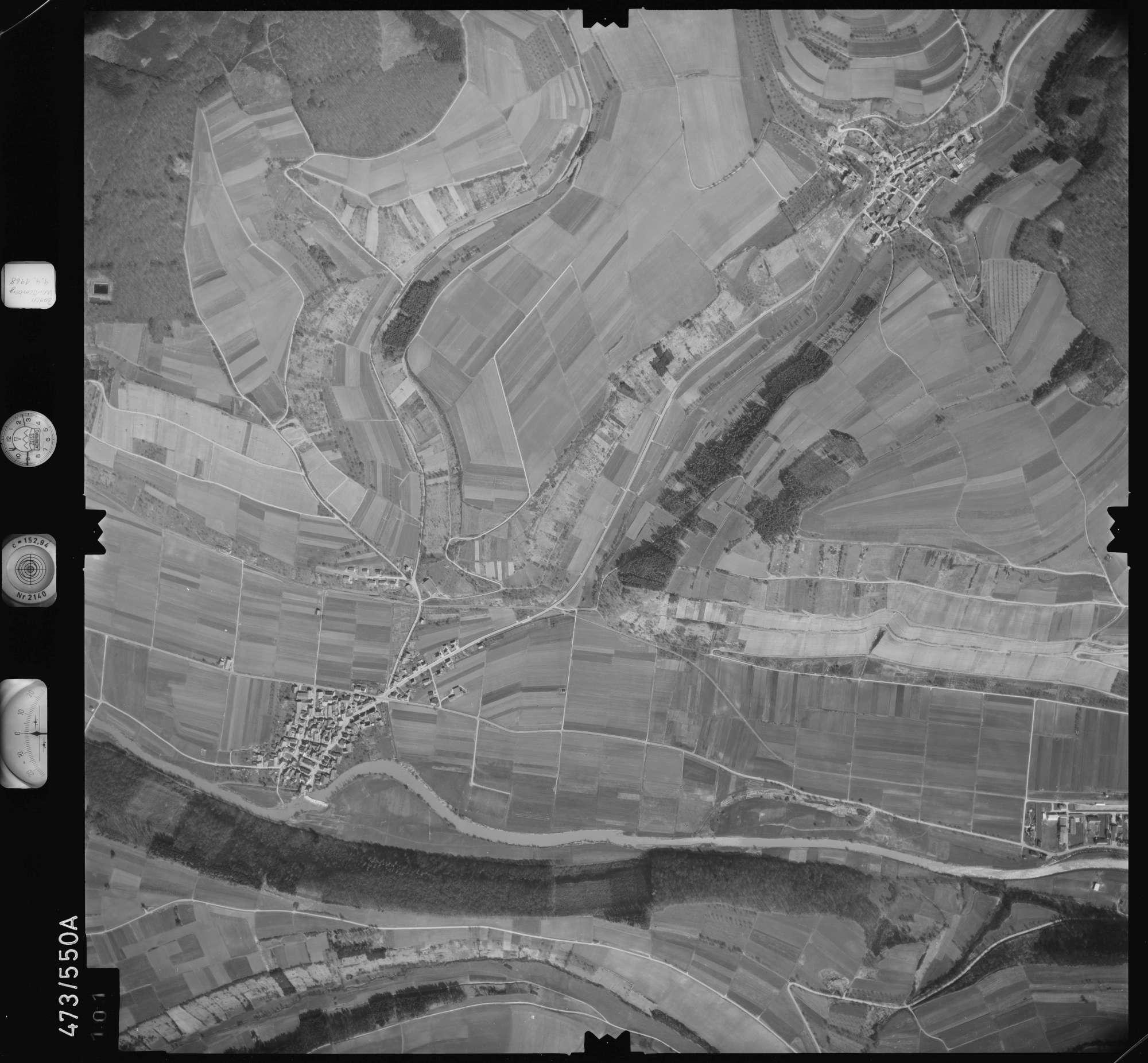Luftbild: Film 100 Bildnr. 101, Bild 1