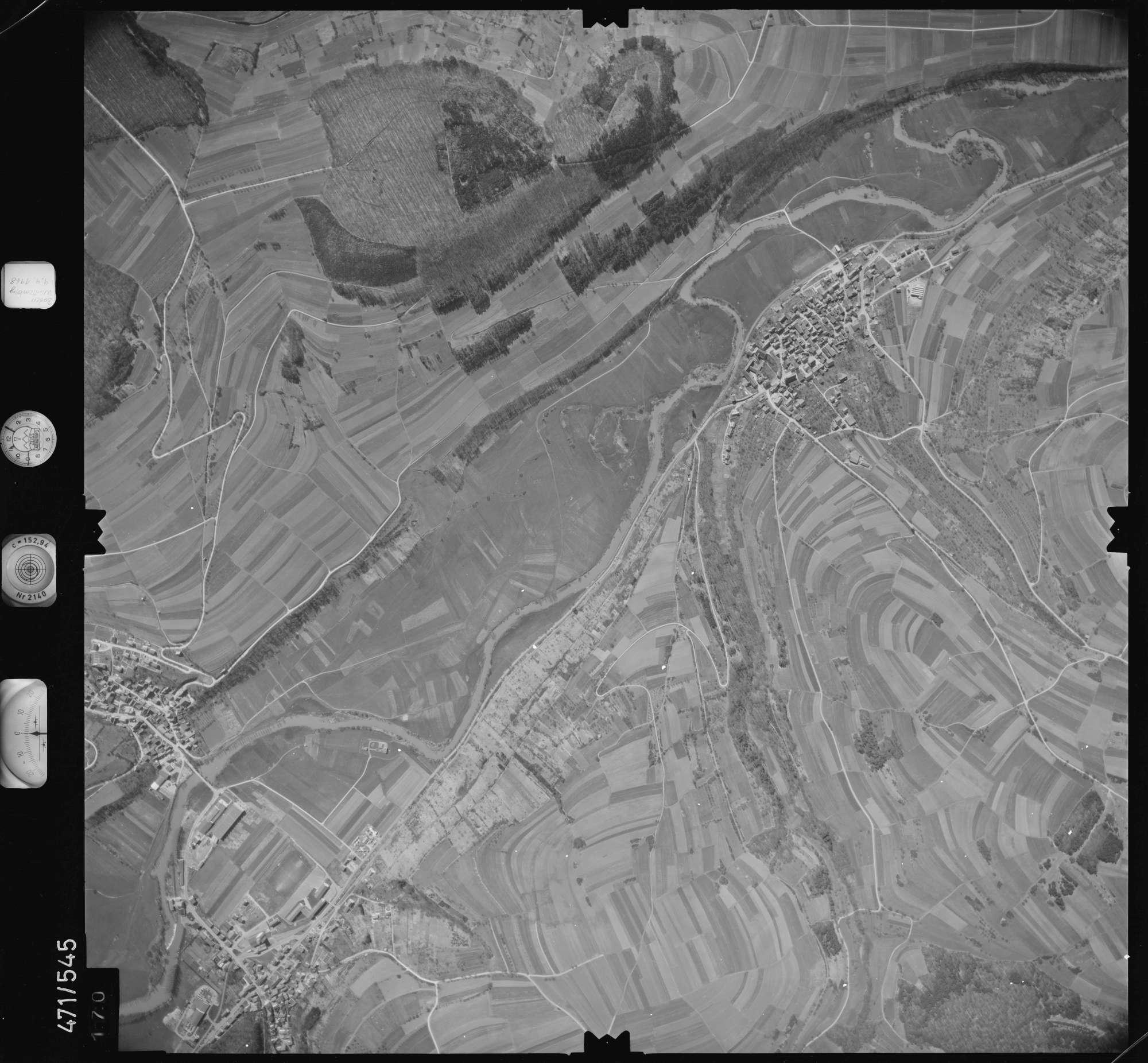Luftbild: Film 100 Bildnr. 170, Bild 1