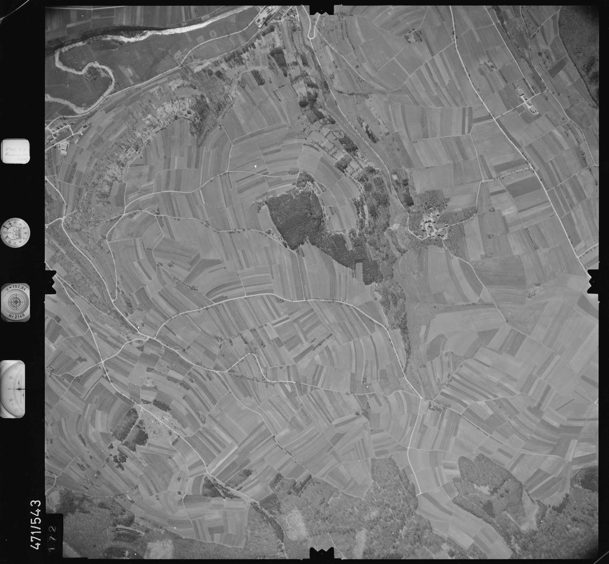 Luftbild: Film 100 Bildnr. 172, Bild 1