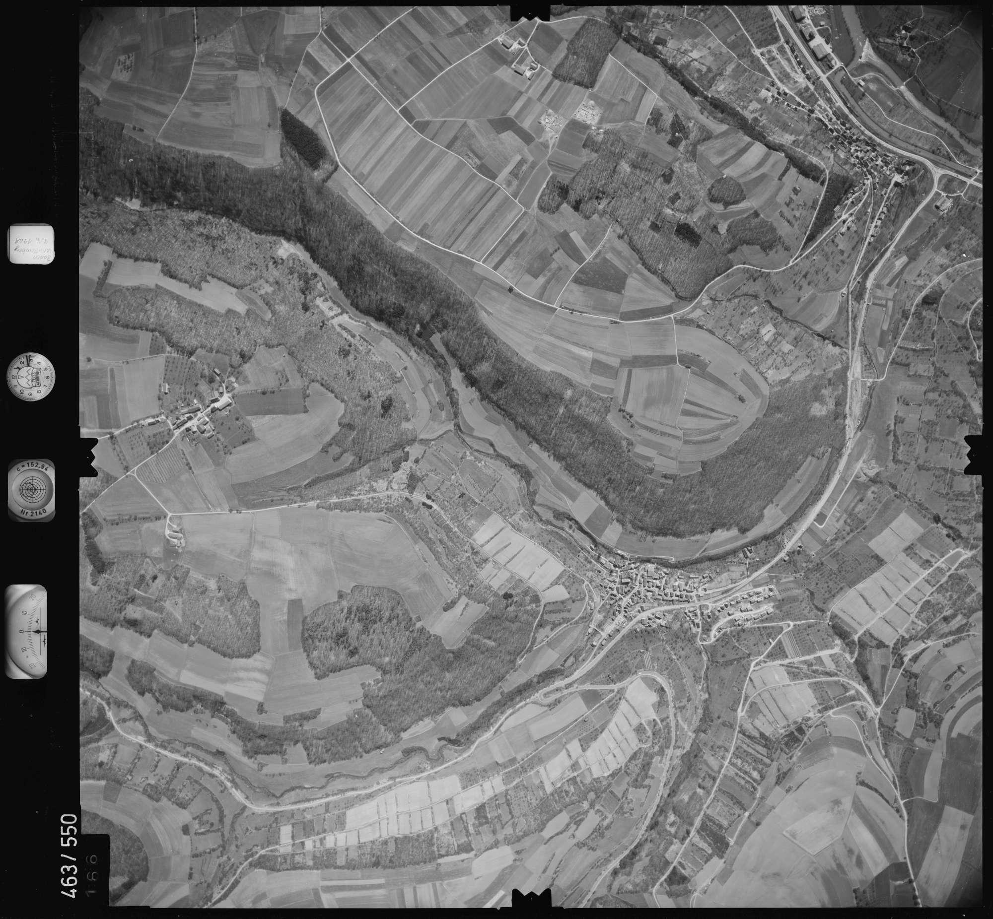 Luftbild: Film 102 Bildnr. 166, Bild 1