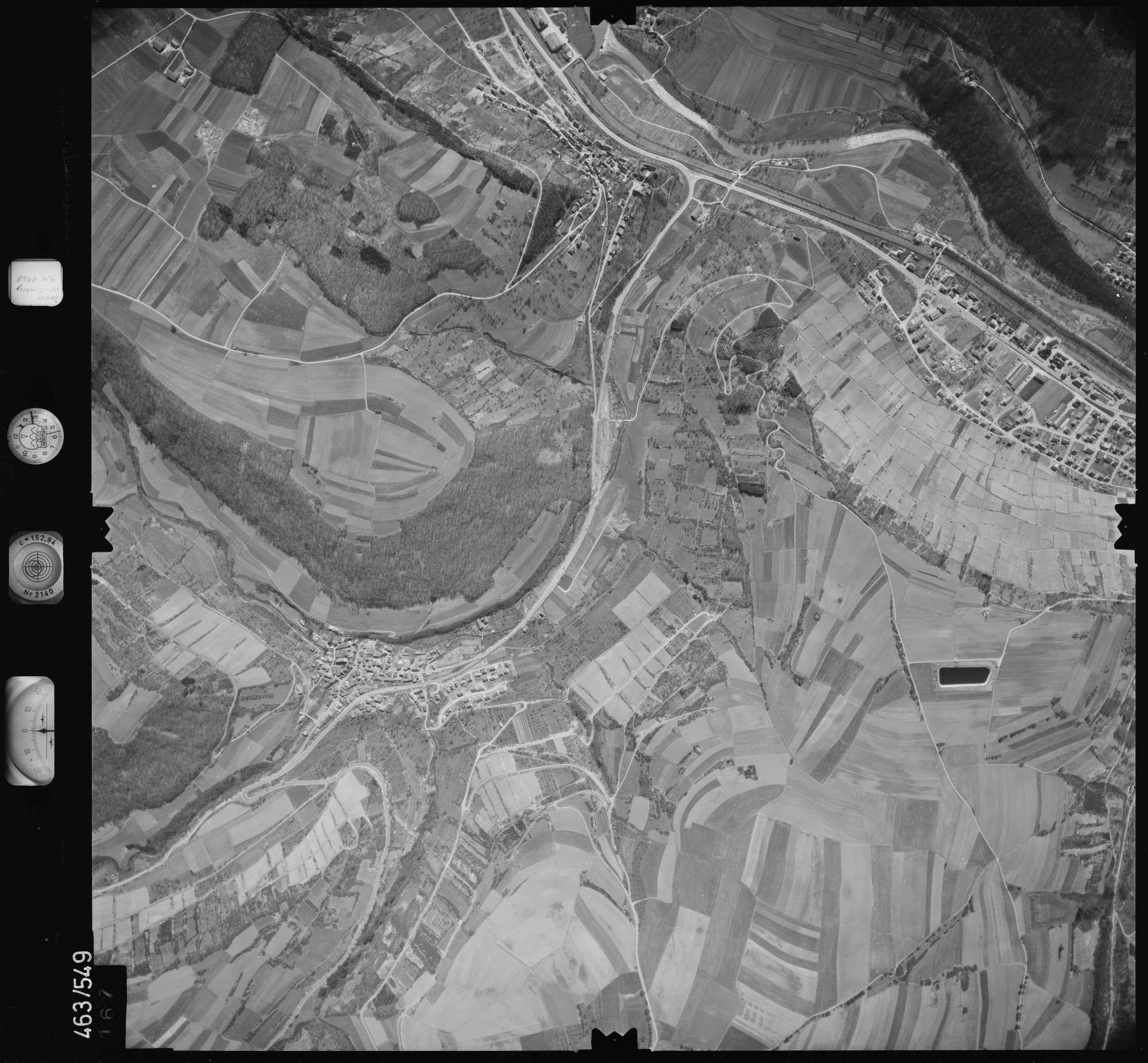 Luftbild: Film 102 Bildnr. 167, Bild 1