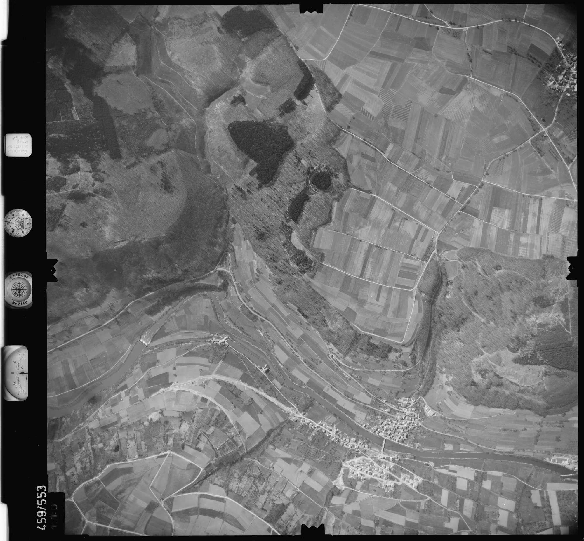 Luftbild: Film 103 Bildnr. 110, Bild 1