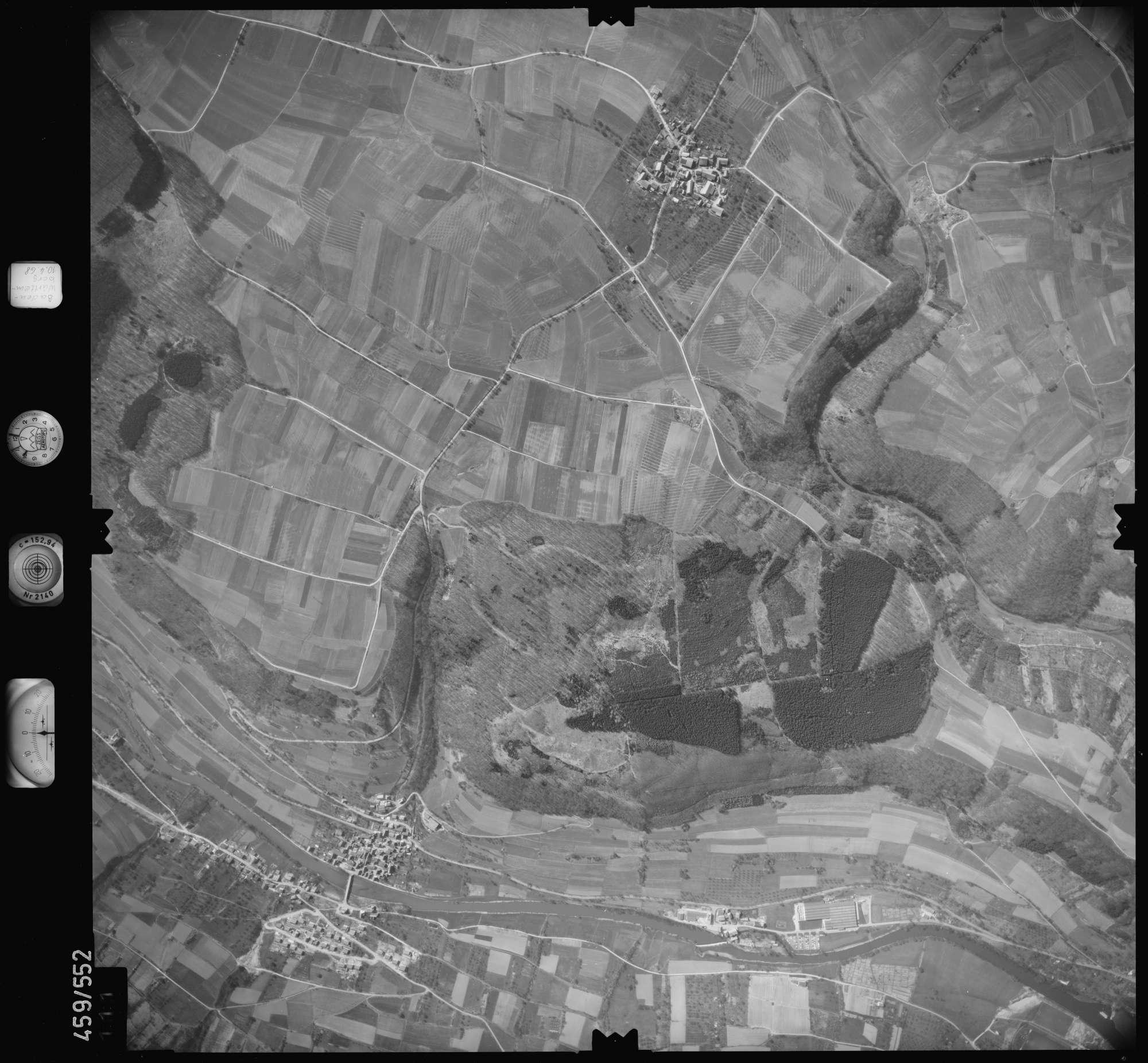 Luftbild: Film 103 Bildnr. 111, Bild 1