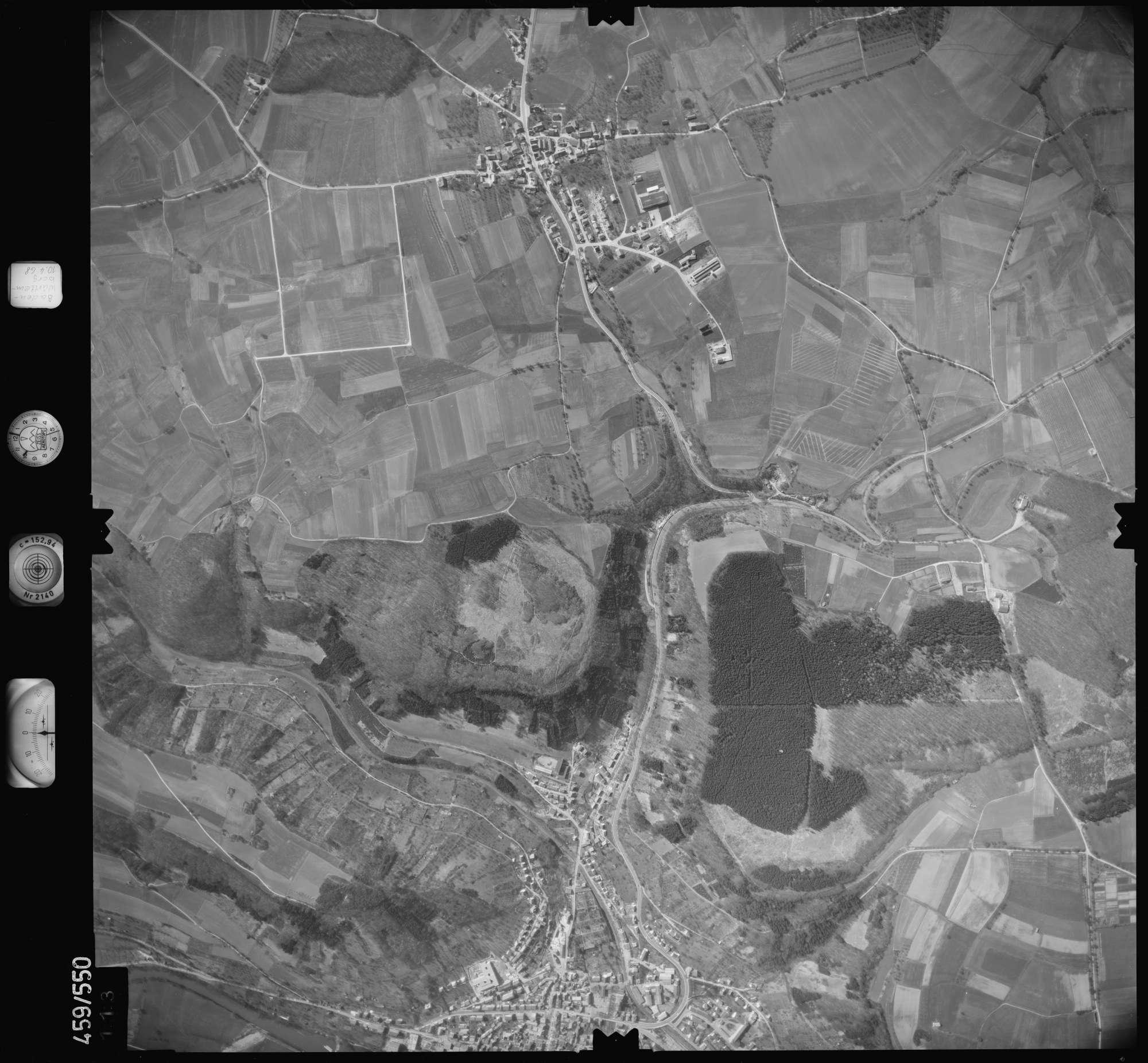 Luftbild: Film 103 Bildnr. 113, Bild 1
