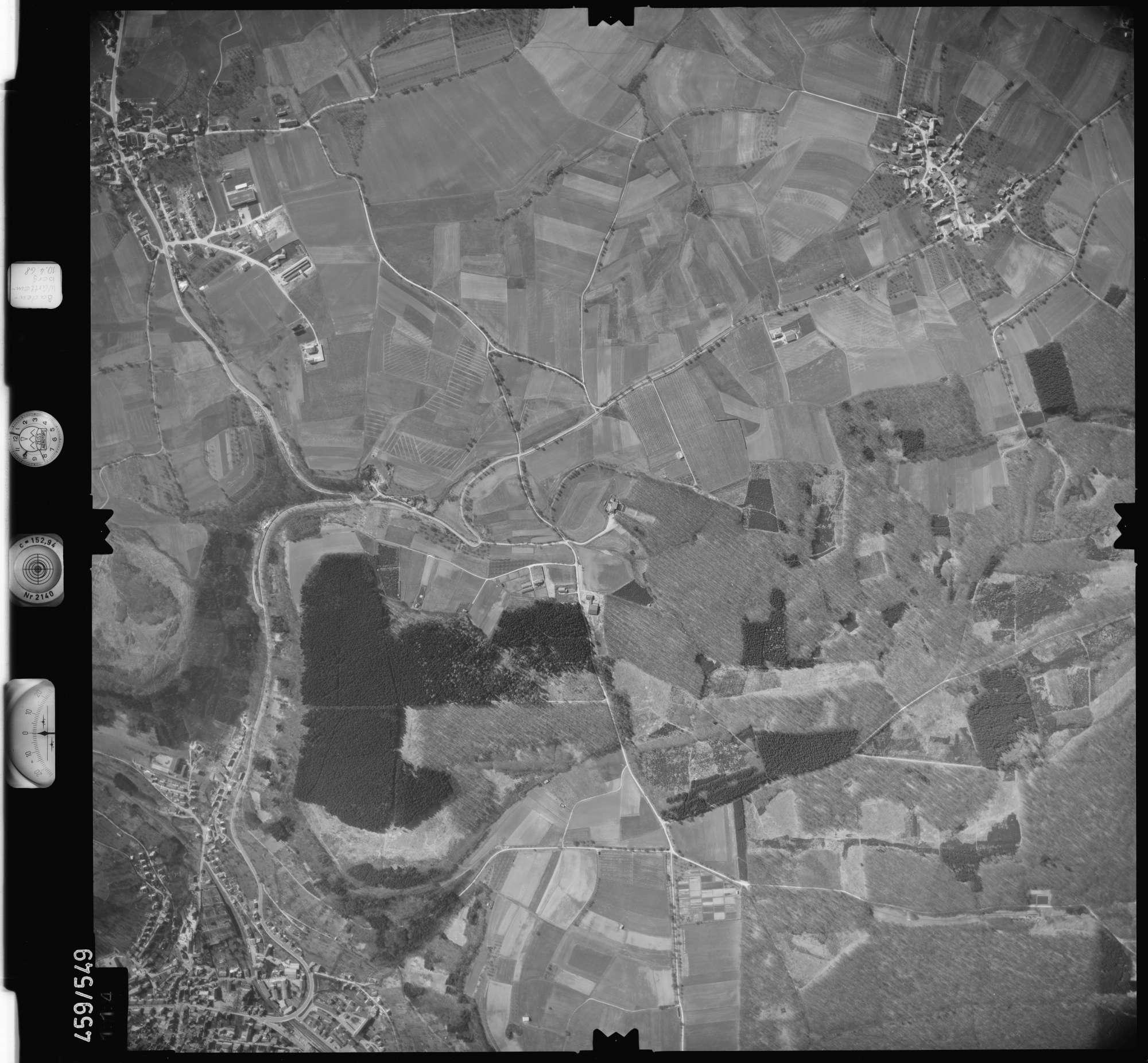 Luftbild: Film 103 Bildnr. 114, Bild 1